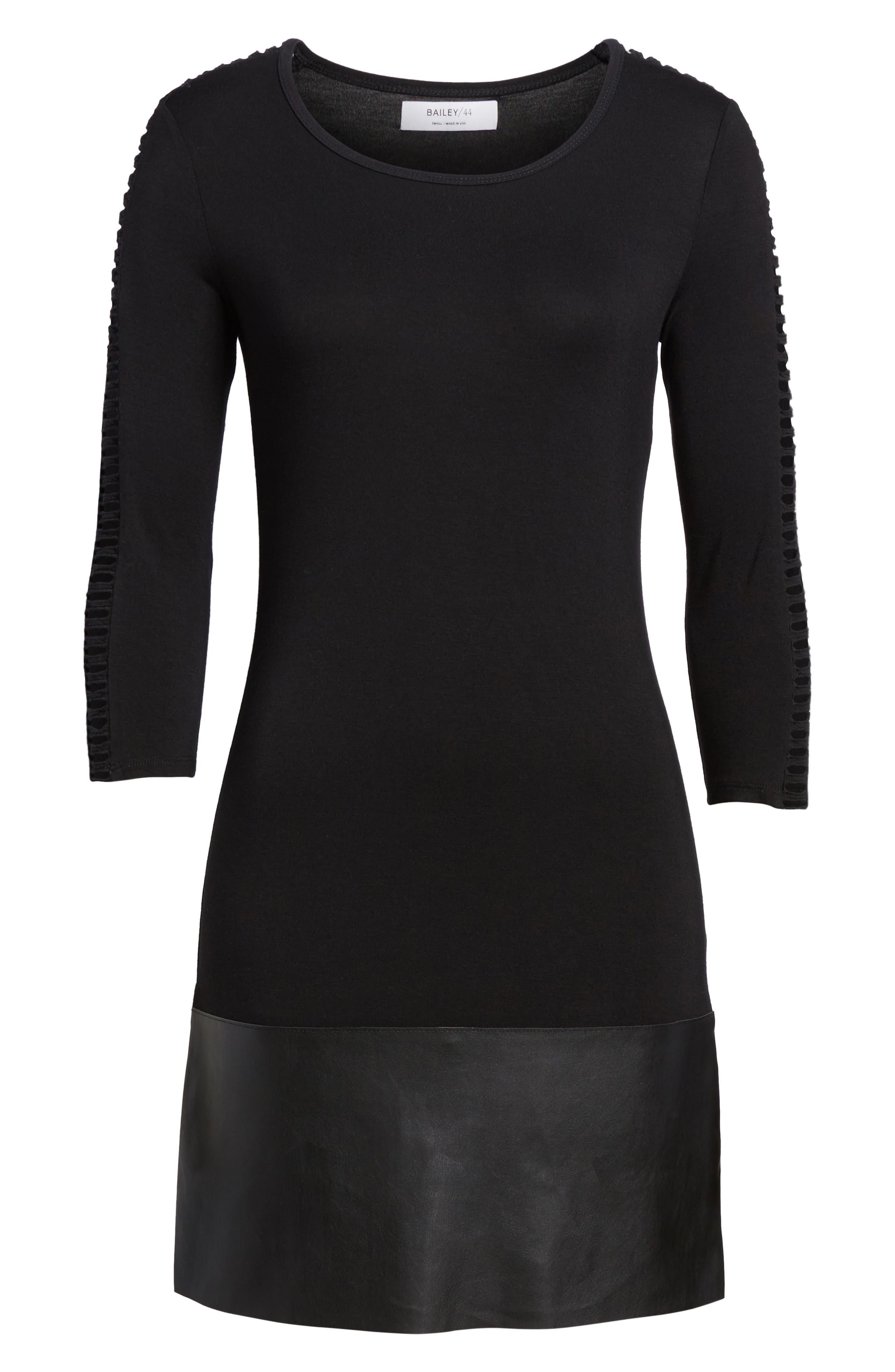 Kendo Dress,                             Alternate thumbnail 6, color,                             Black