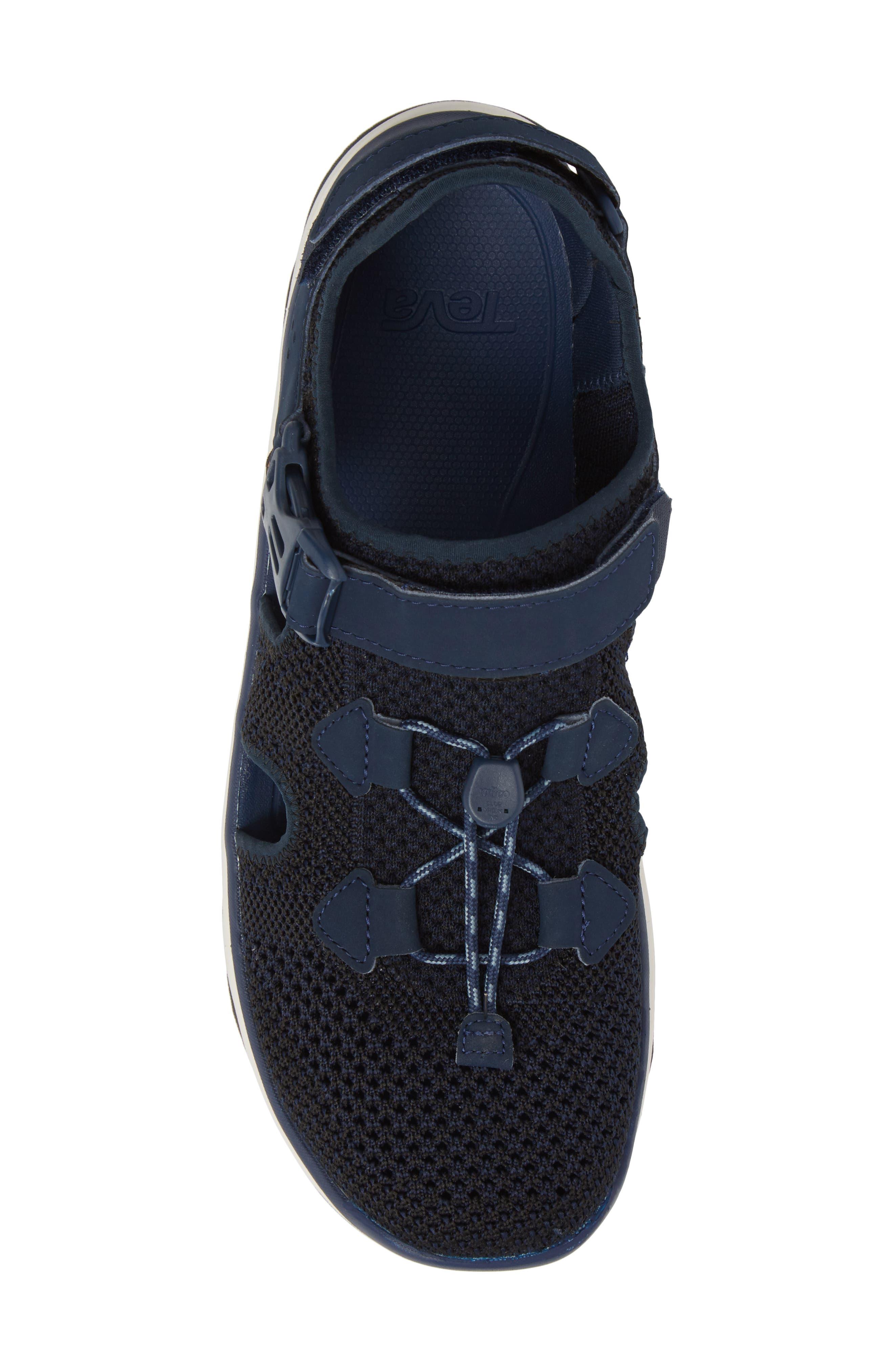Terra Float Travel Sneaker,                             Alternate thumbnail 5, color,                             Navy Knit
