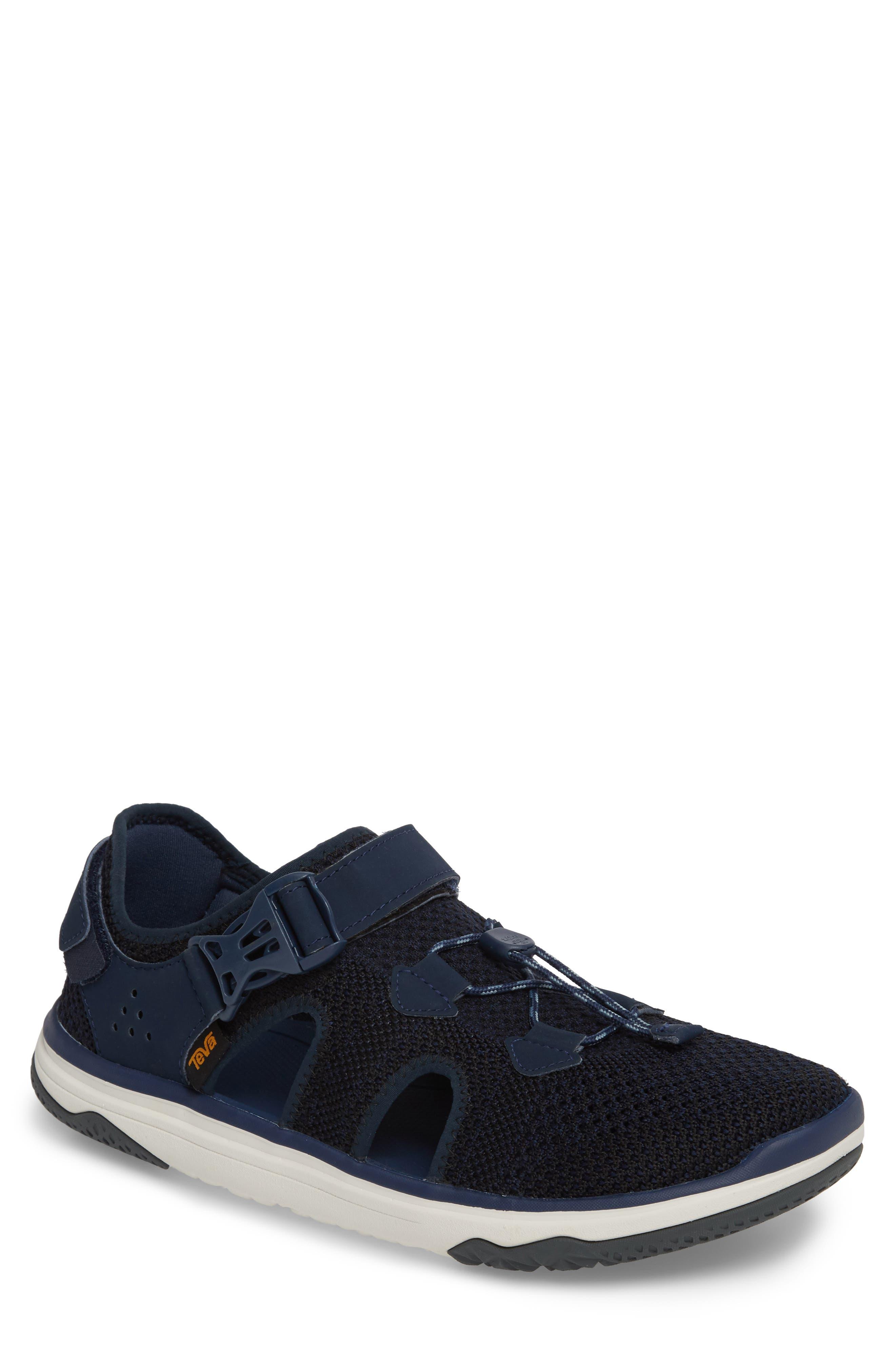 Terra Float Travel Sneaker,                             Main thumbnail 1, color,                             Navy Knit