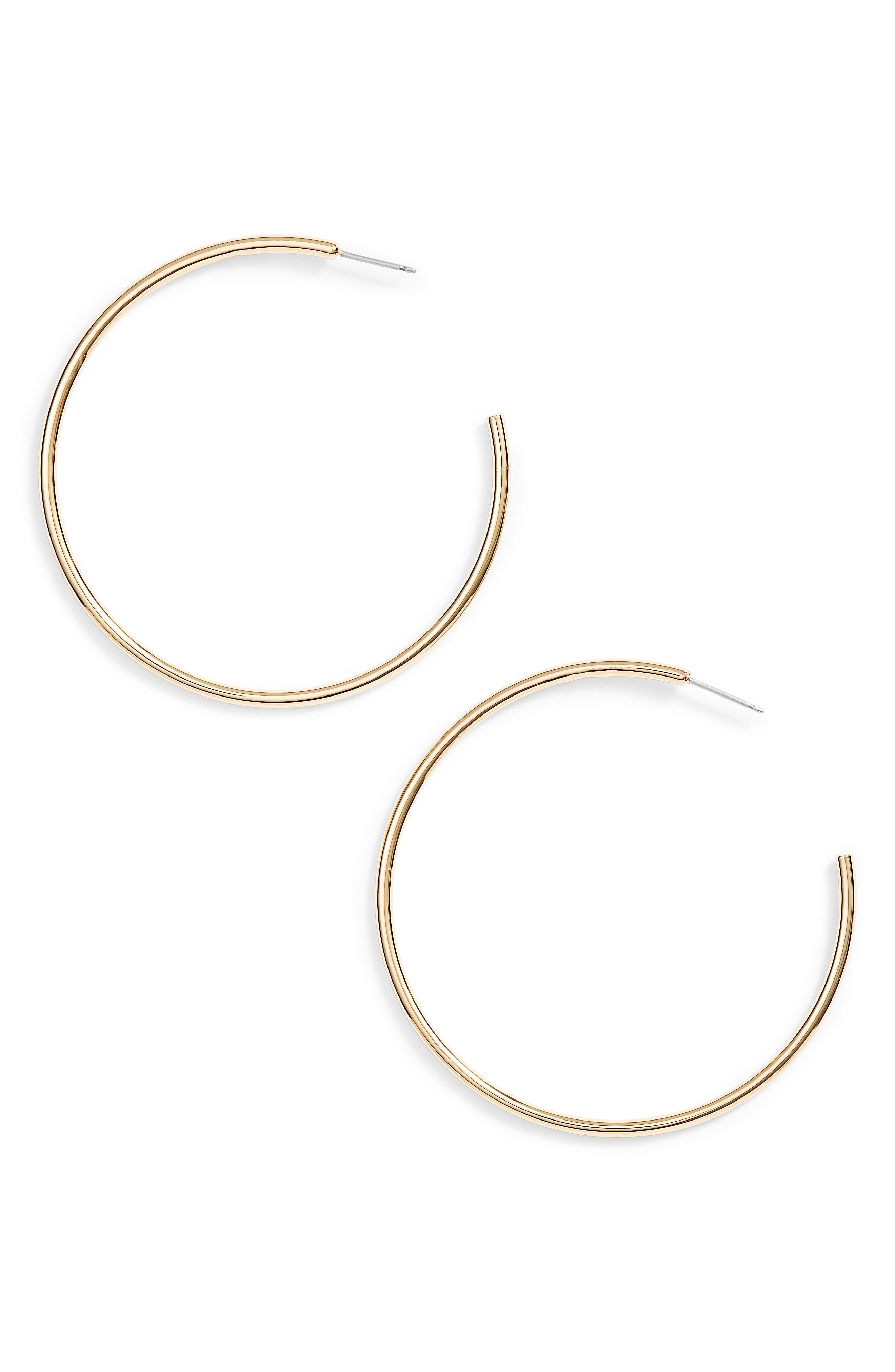 Vince Camuto Open Hoop Earrings