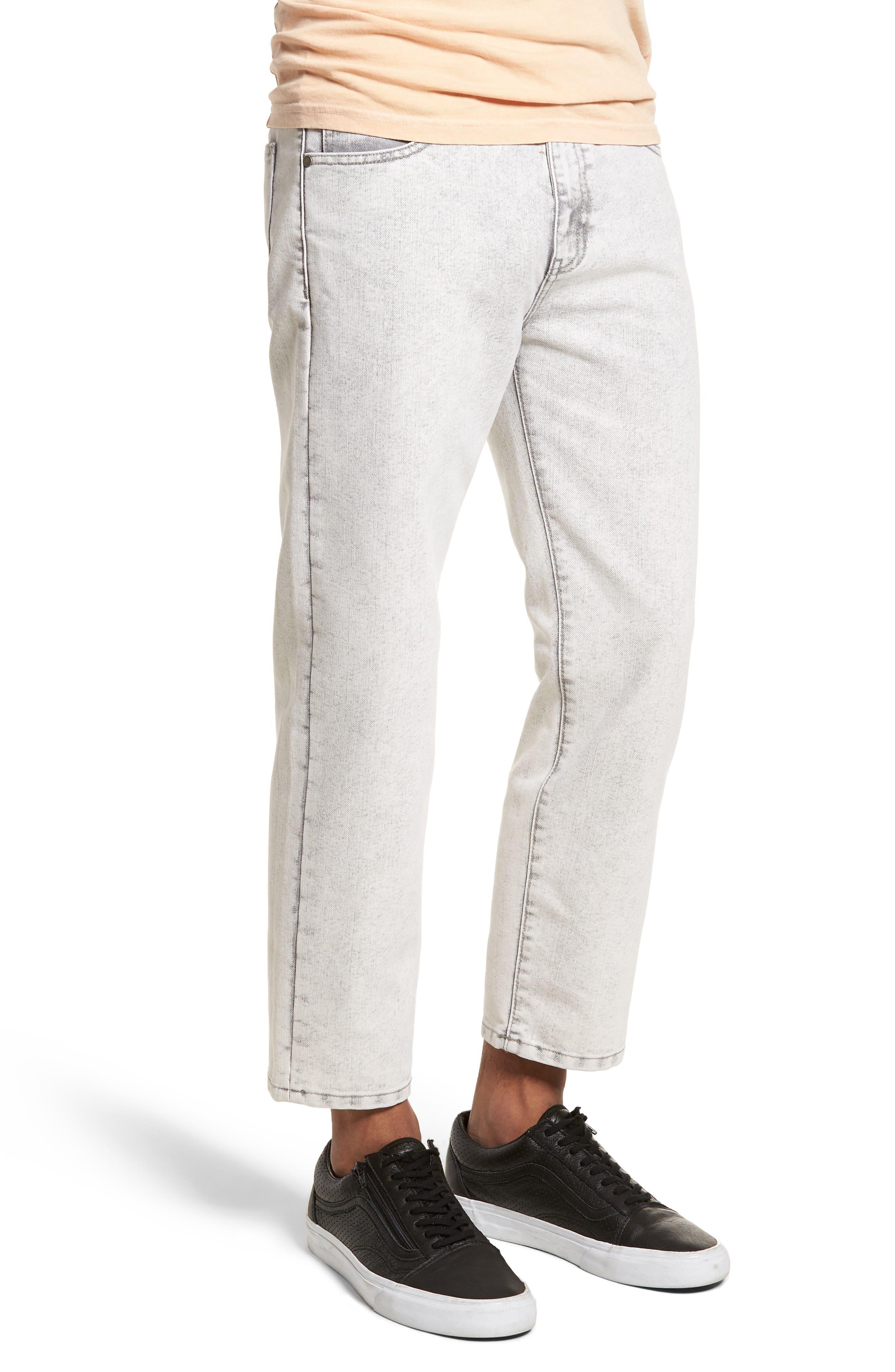 Dr. Denim Jeansmaker Otis Straight Fit Jeans,                             Alternate thumbnail 3, color,                             Dirty White