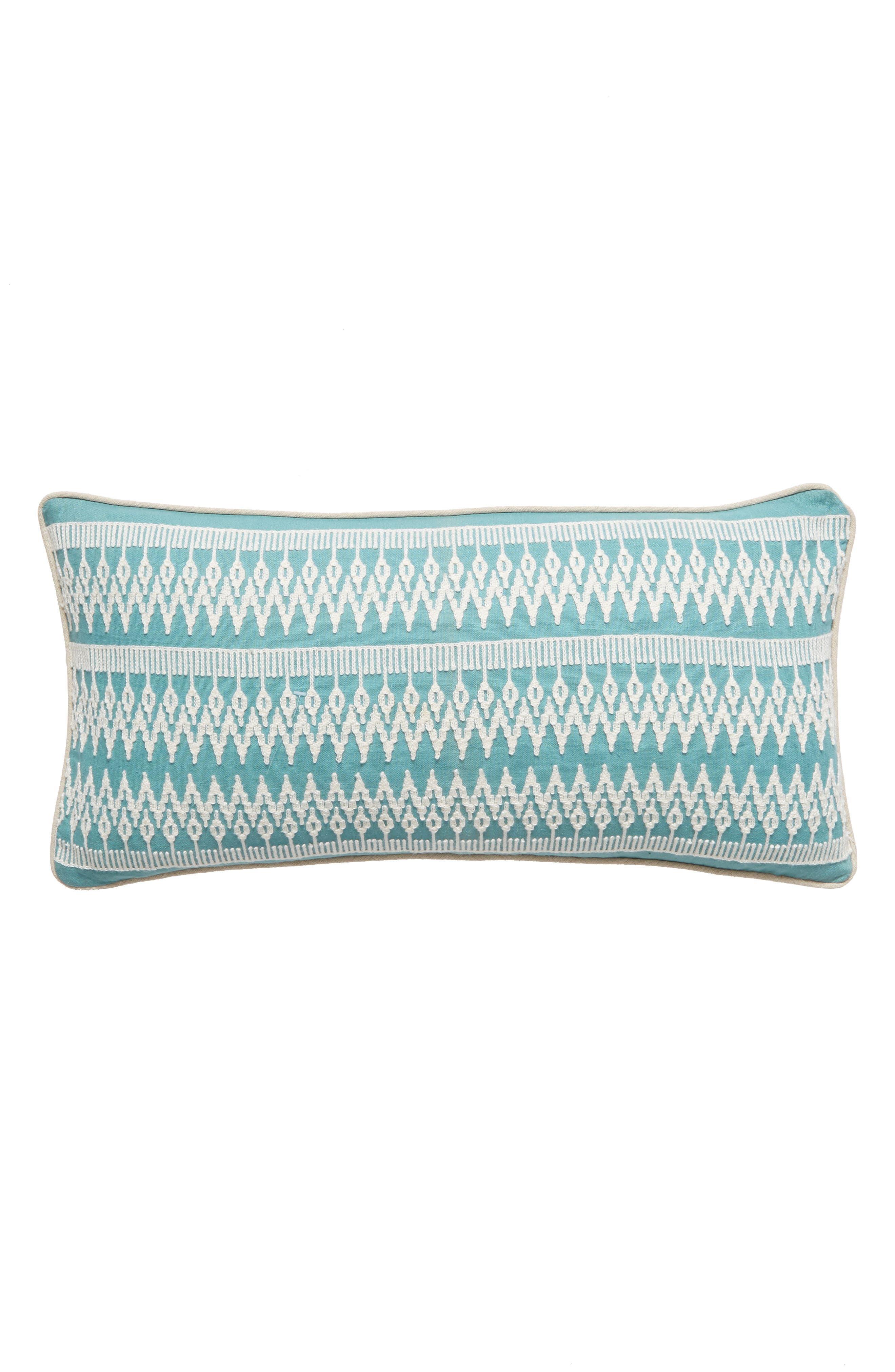 Carla Accent Pillow,                             Main thumbnail 1, color,                             Blue