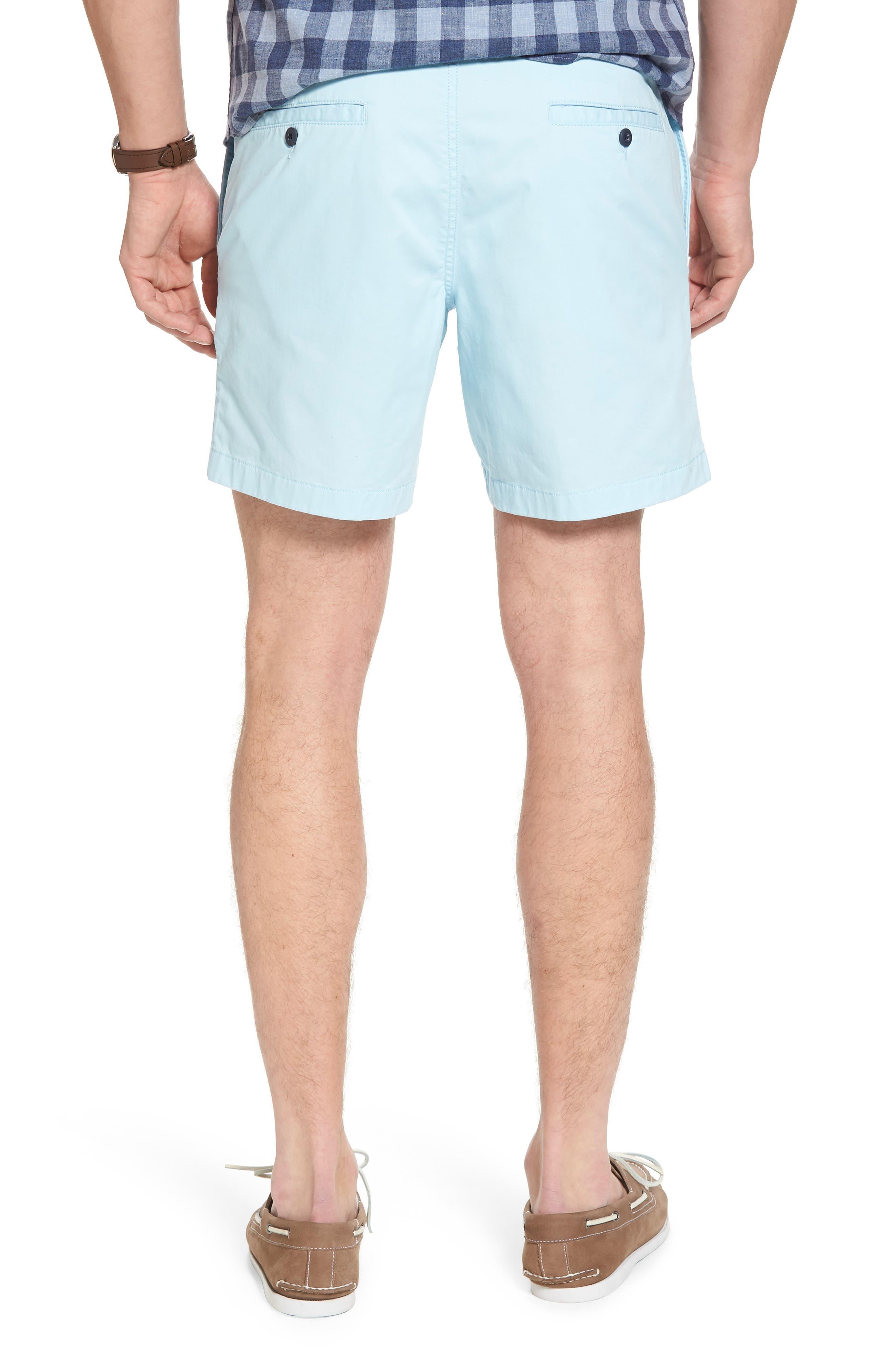 Ballard Slim Fit Stretch Chino 7-Inch Shorts,                             Alternate thumbnail 2, color,                             Blue Orydalis
