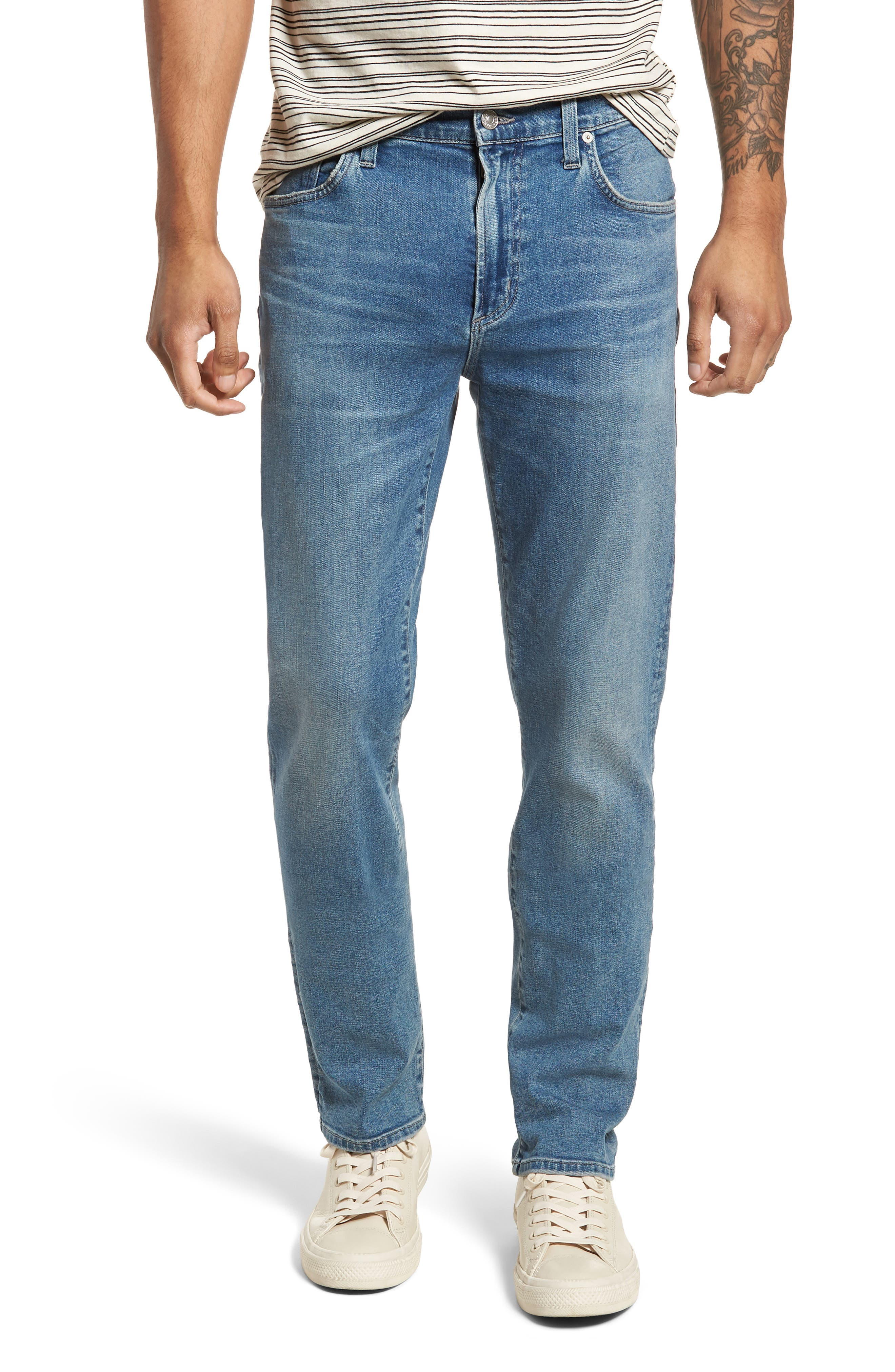 Gage Slim Straight Leg Jeans,                             Main thumbnail 1, color,                             Hemingway