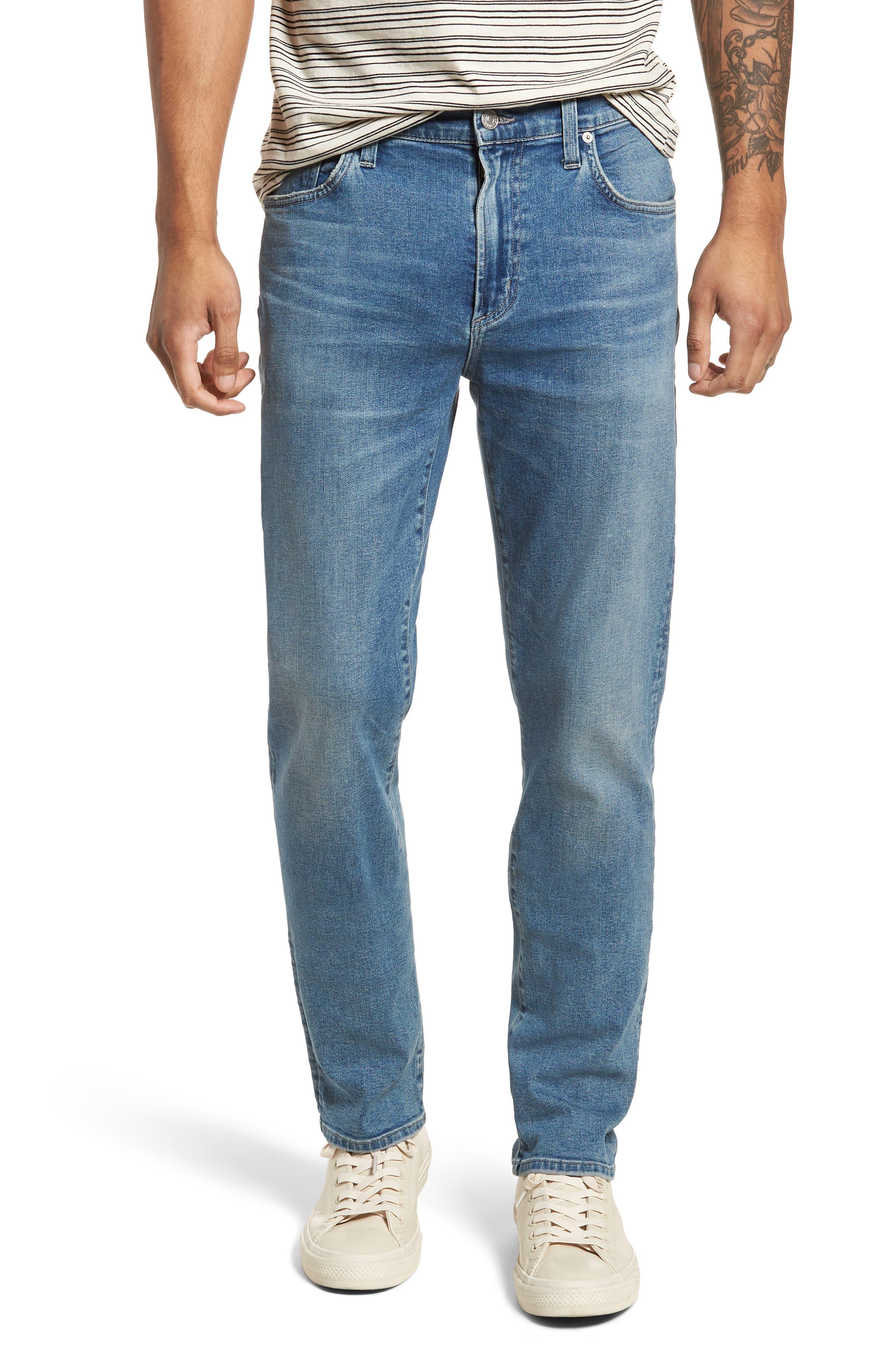 Gage Slim Straight Leg Jeans,                         Main,                         color, Hemingway