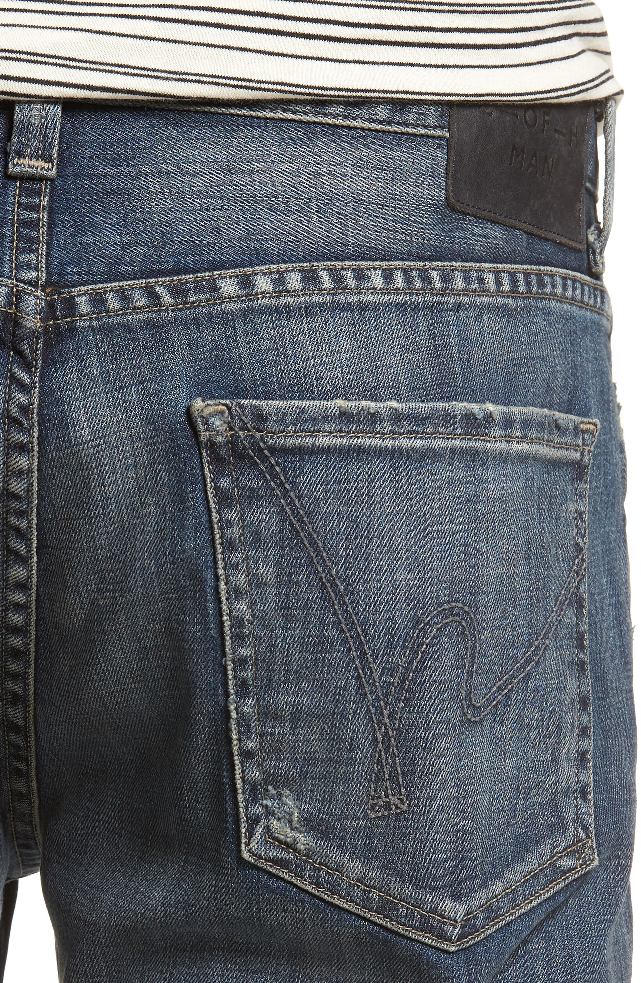 Sid Straight Leg Jeans,                             Alternate thumbnail 4, color,                             Reeves