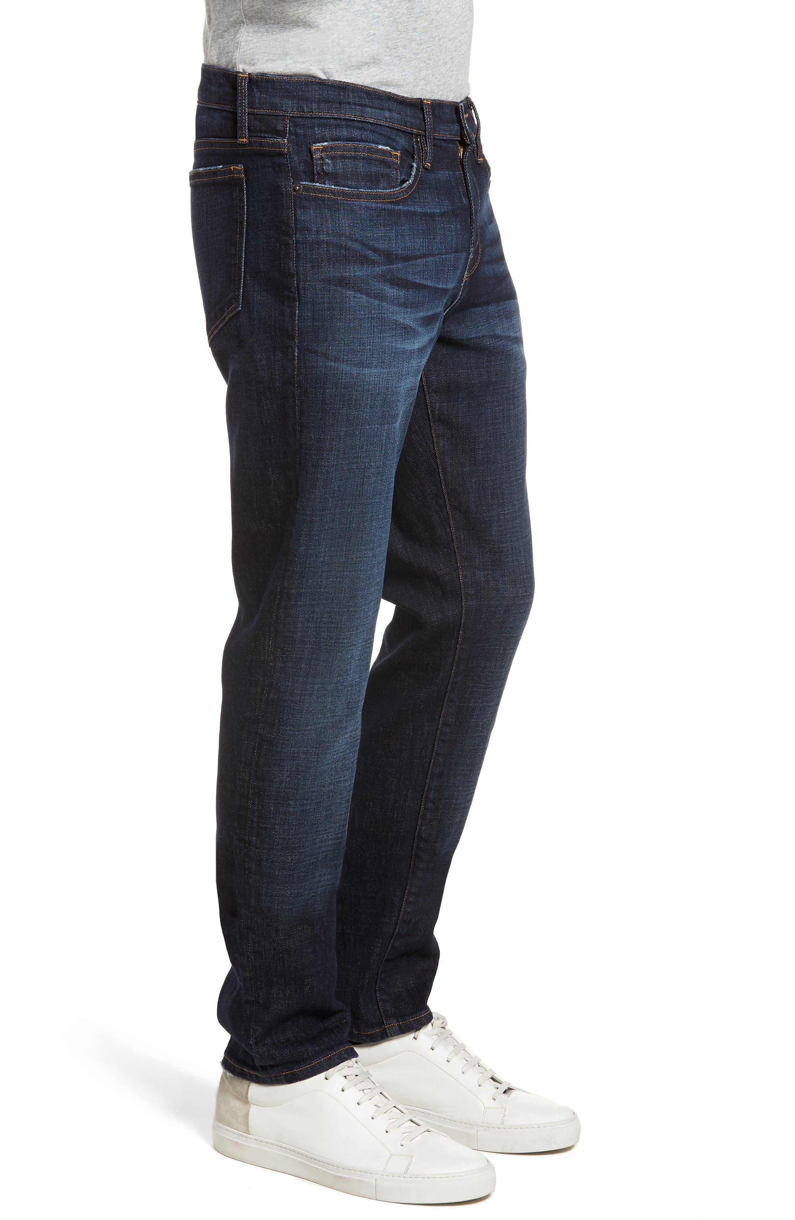 L'Homme Slim Fit Jeans,                             Alternate thumbnail 3, color,                             Eastcape