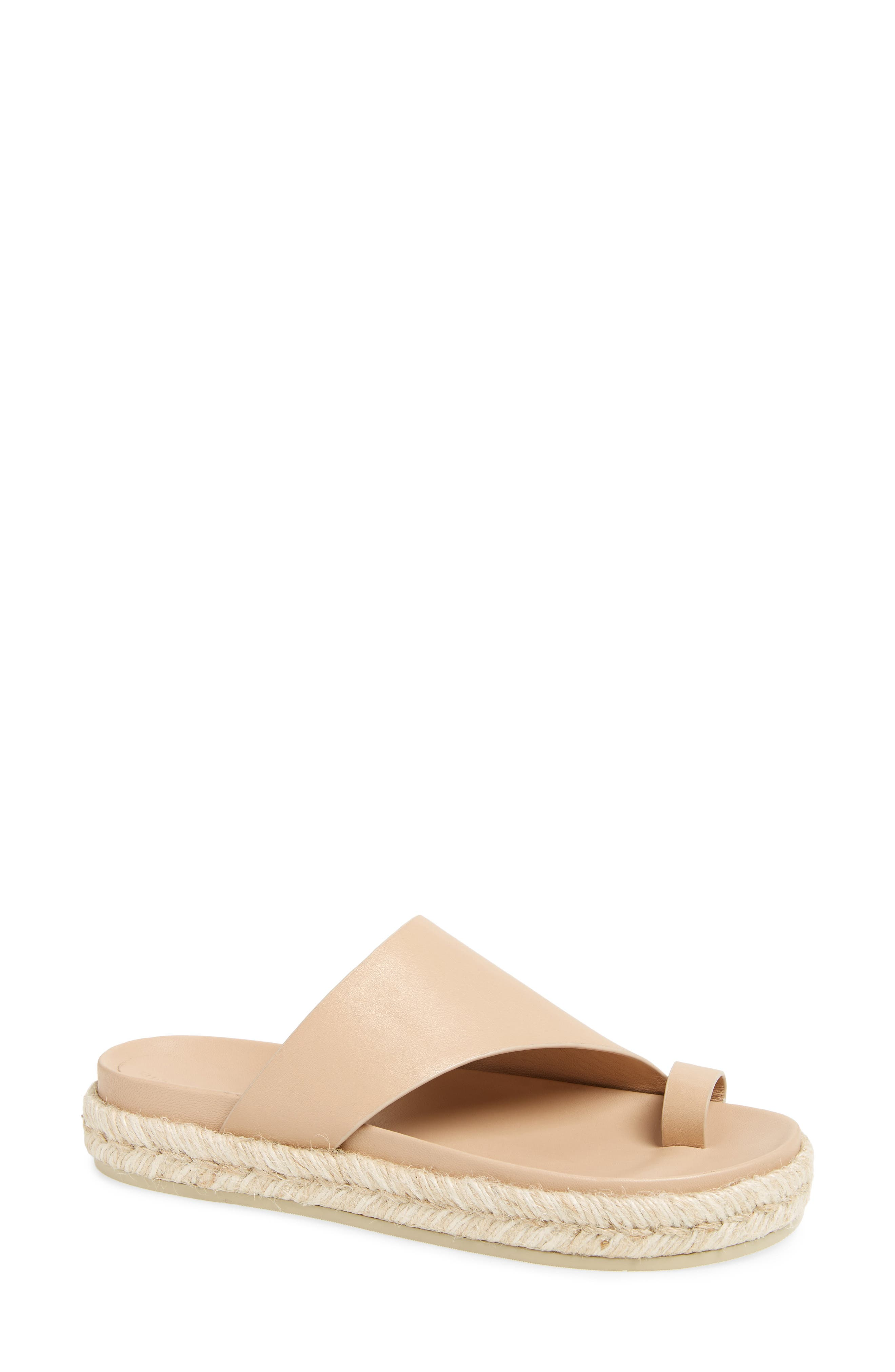Sigerson Morrison Espadrille Toe Loop Sandal (Women)