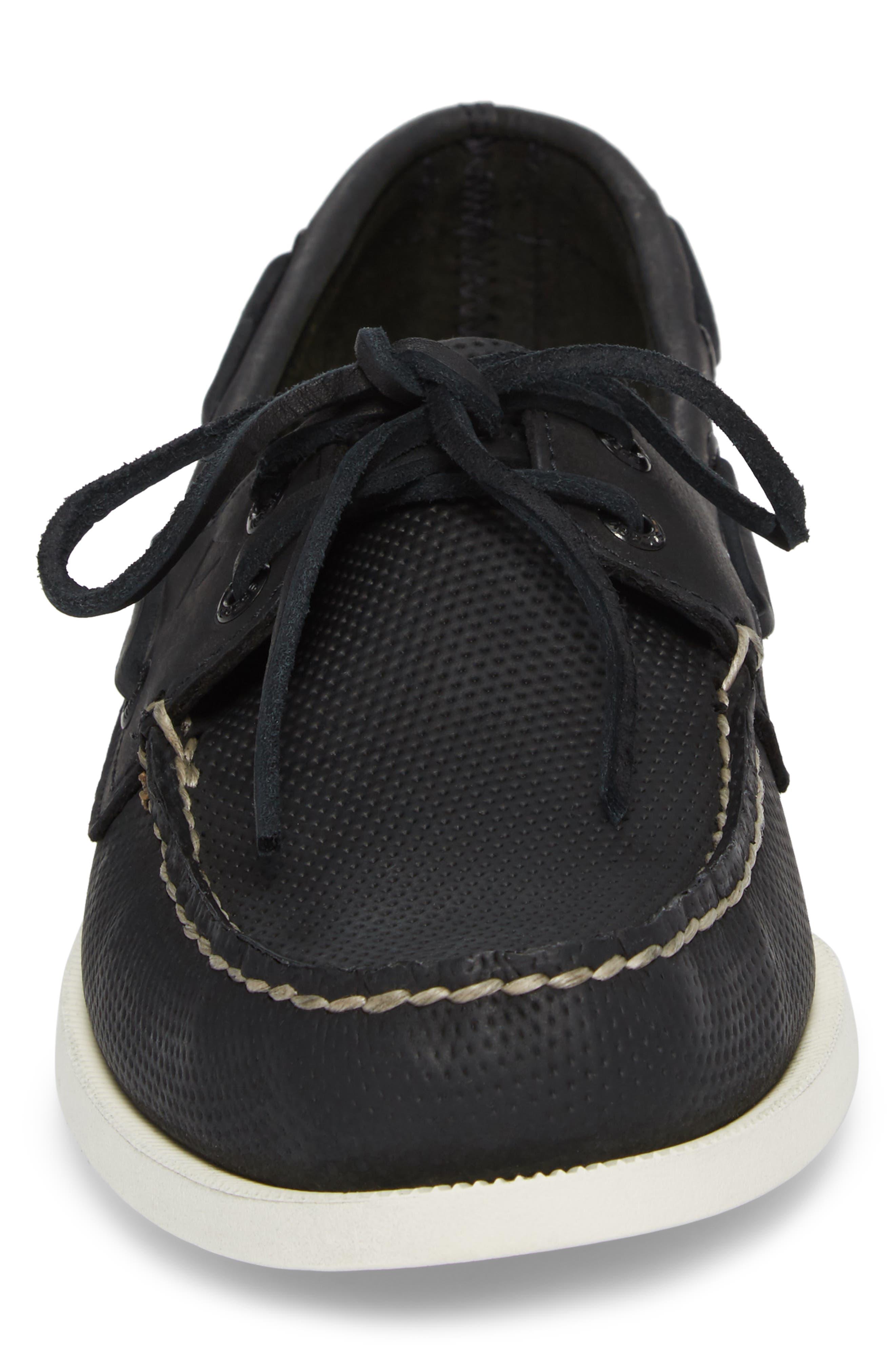 Alternate Image 4  - Sperry AO 2 Eye Perforated Boat Shoe (Men)