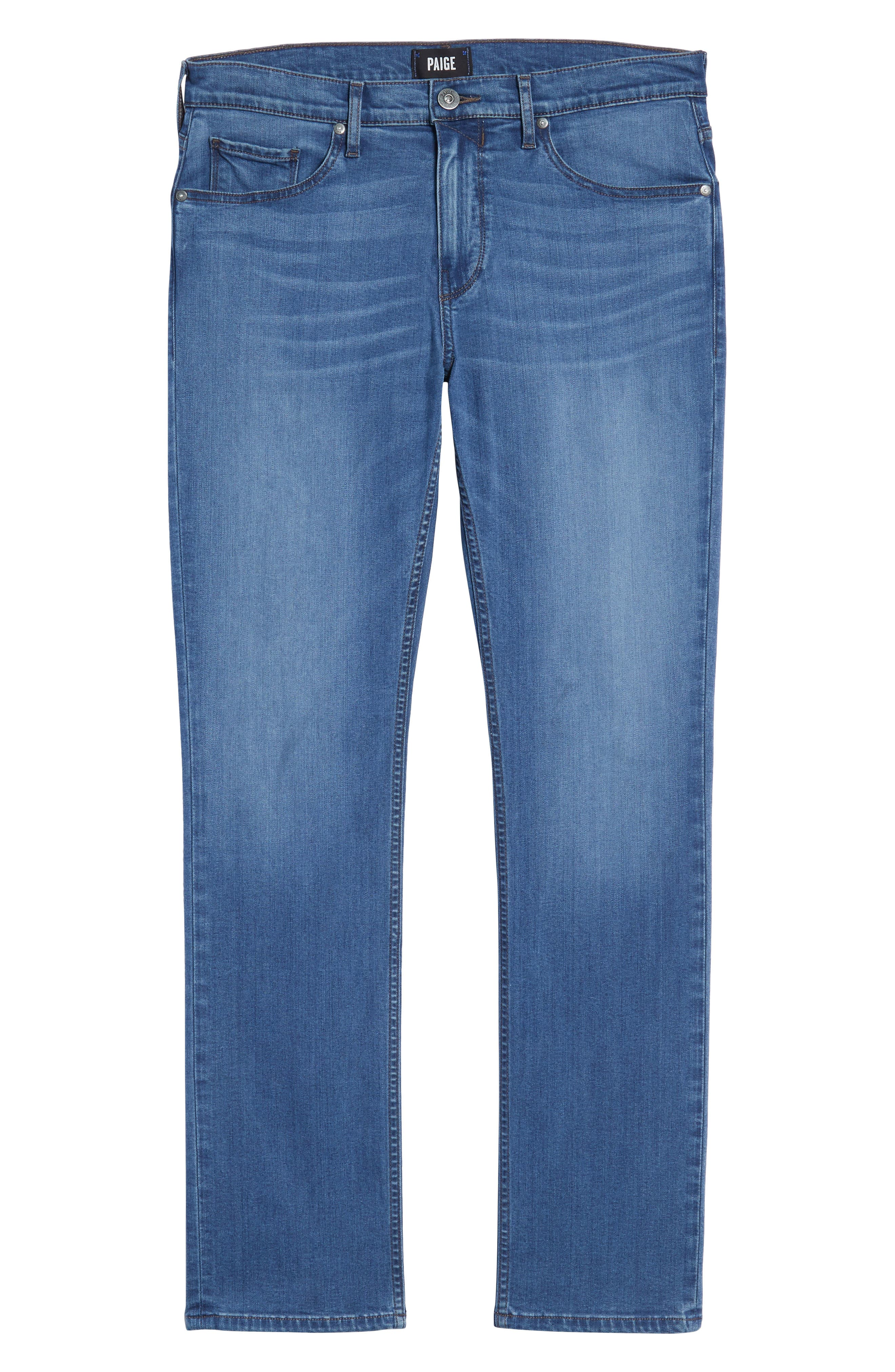 Federal Slim Straight Leg Jeans,                             Alternate thumbnail 6, color,                             Ellice