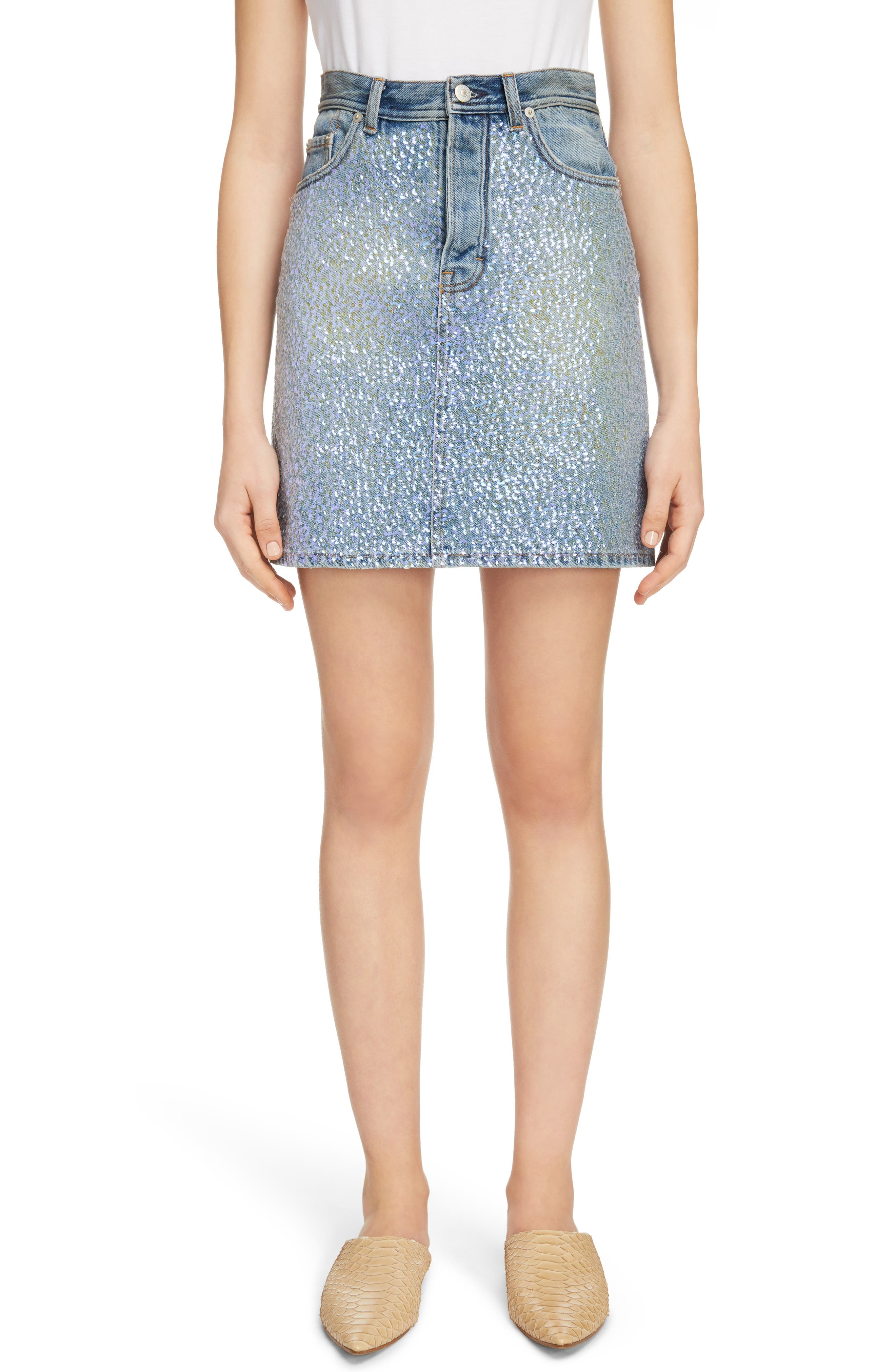 Acne Studios Sharmayne Denim Skirt