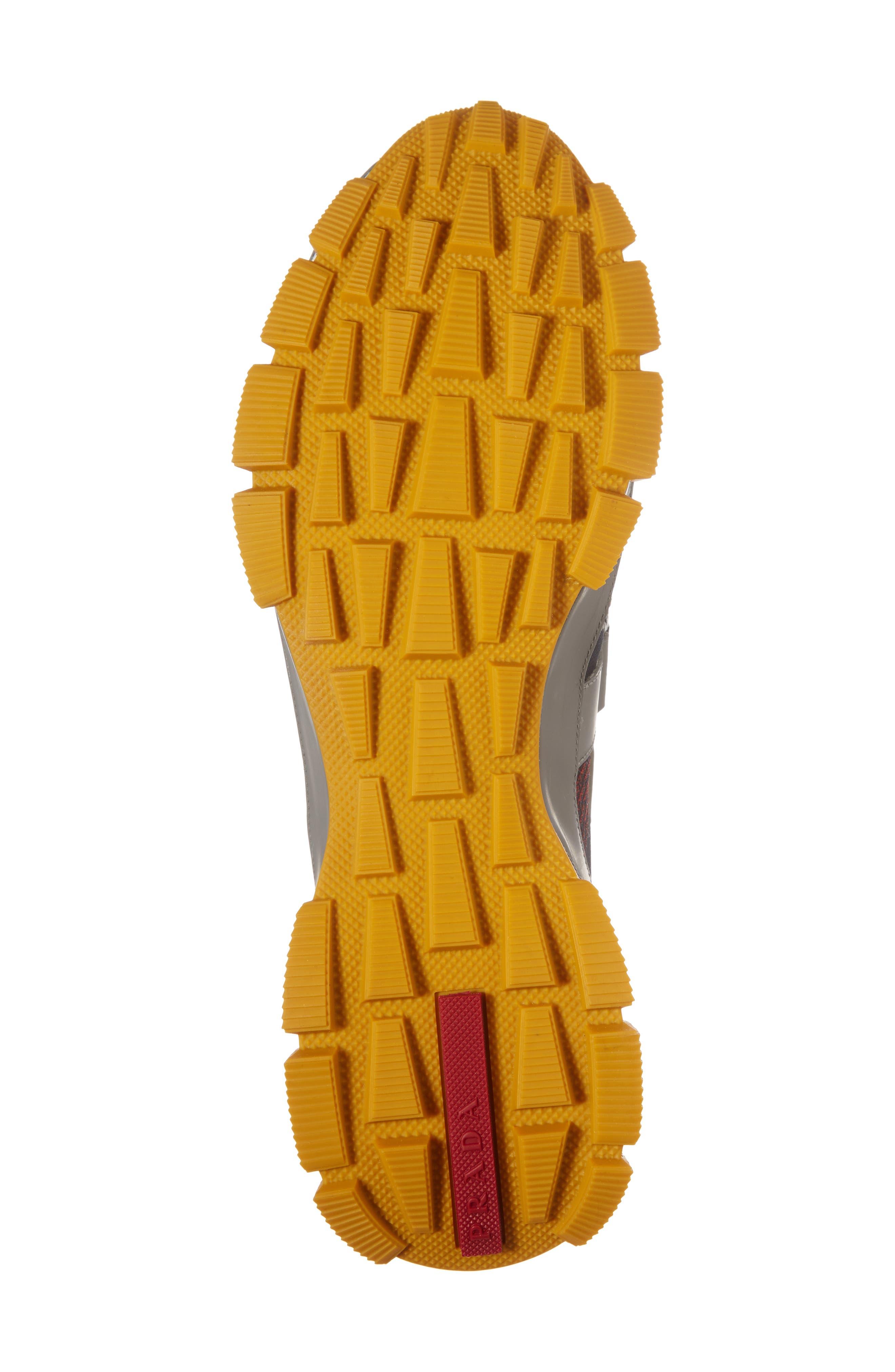 Alternate Image 6  - Prada Linea Rossa Strap Sneaker (Men)