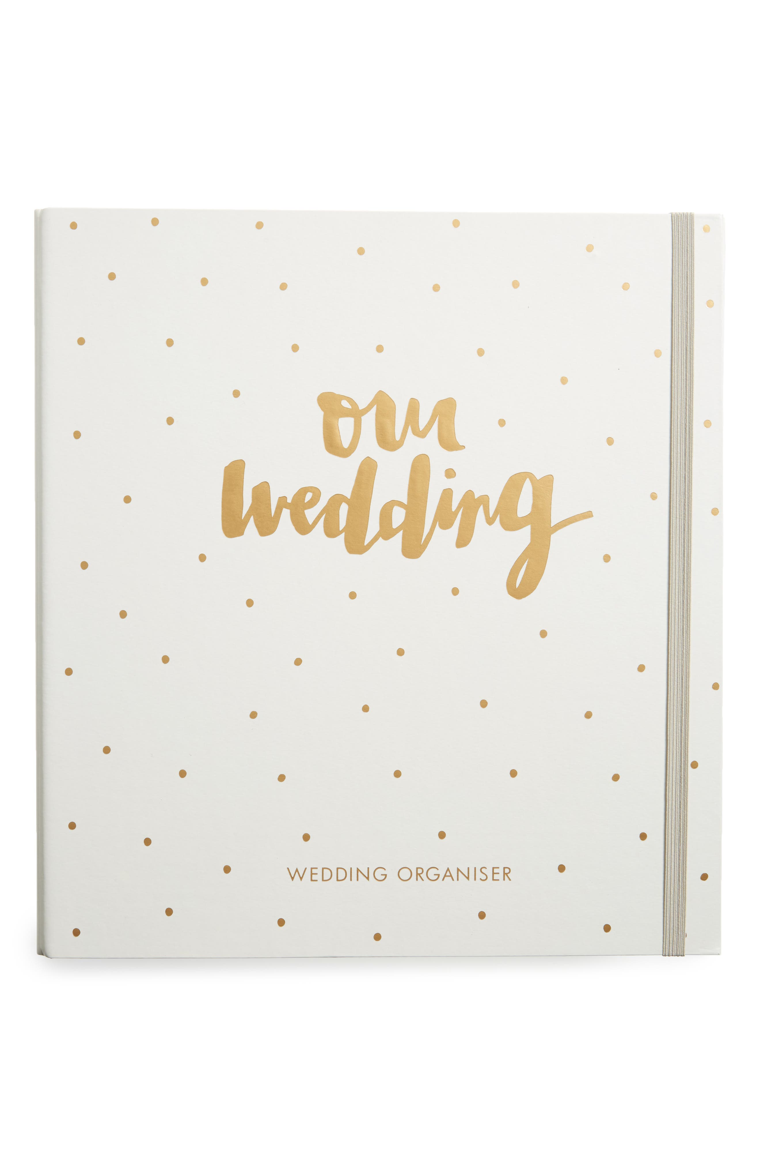Wedding Organizer: Always & Forever Planner,                             Main thumbnail 1, color,                             Gold