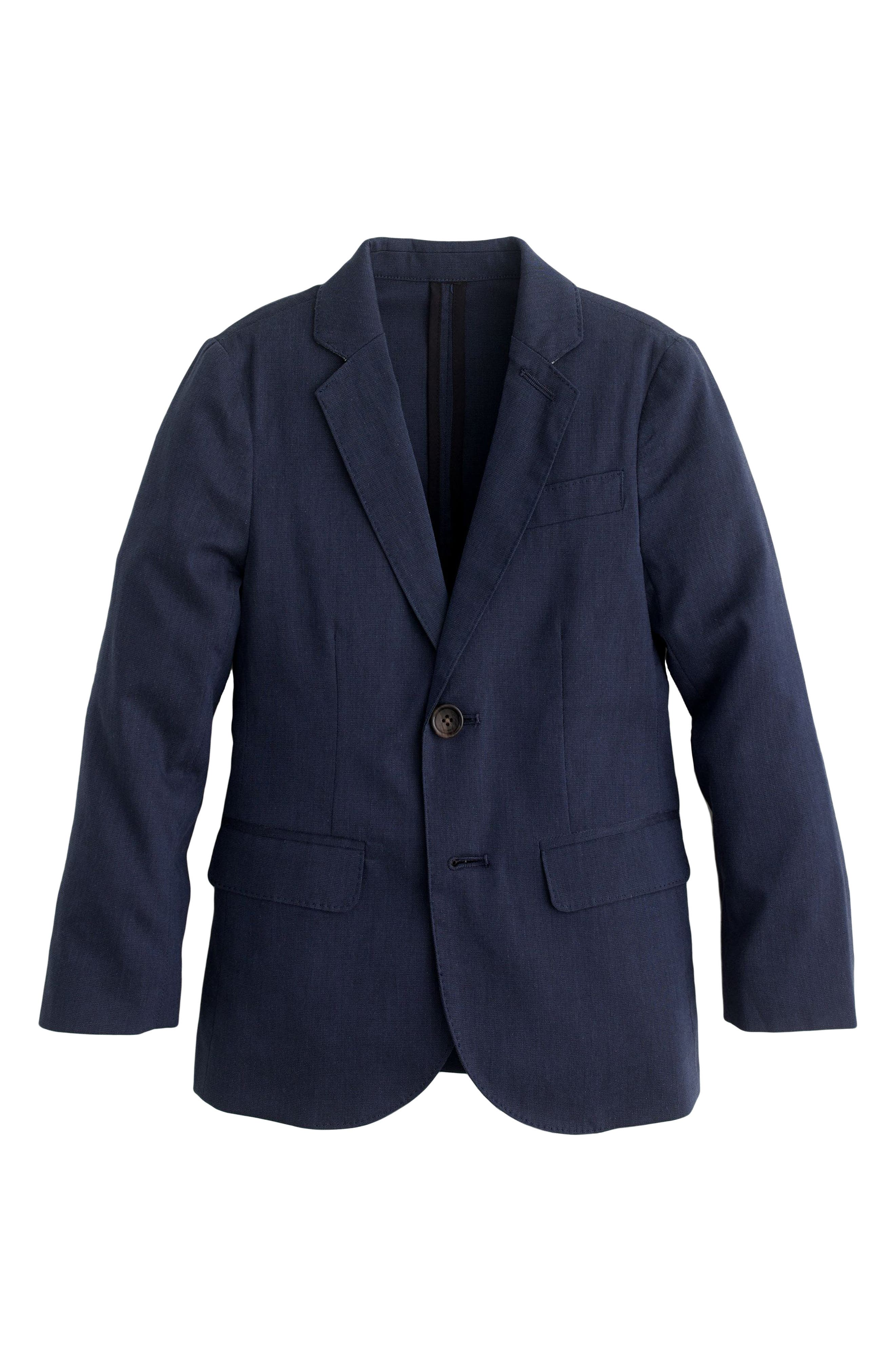 Ludlow Unstructured Suit Jacket,                         Main,                         color, Navy