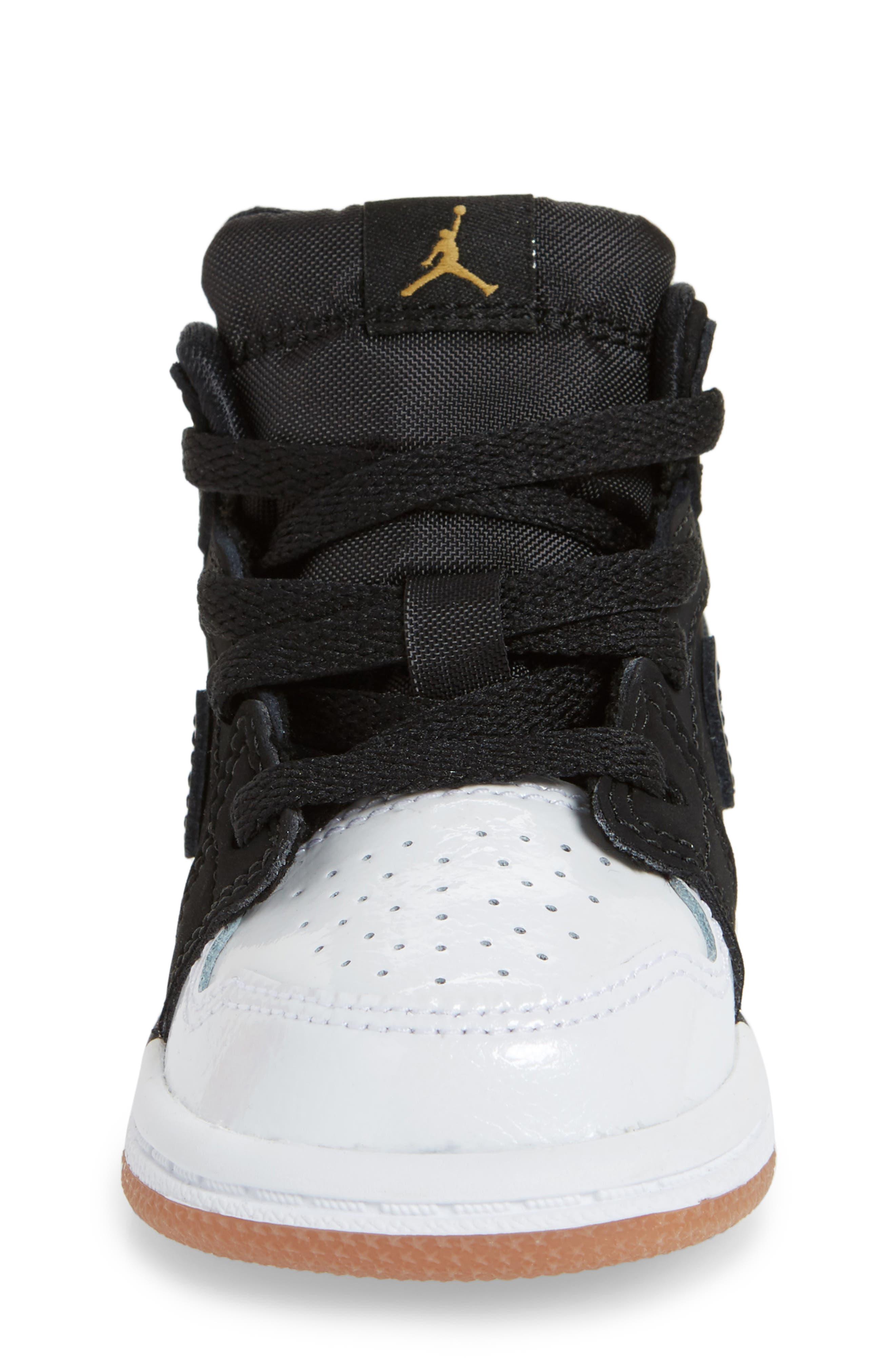 Alternate Image 4  - Nike 'Jordan 1 Mid' Basketball Shoe (Walker)