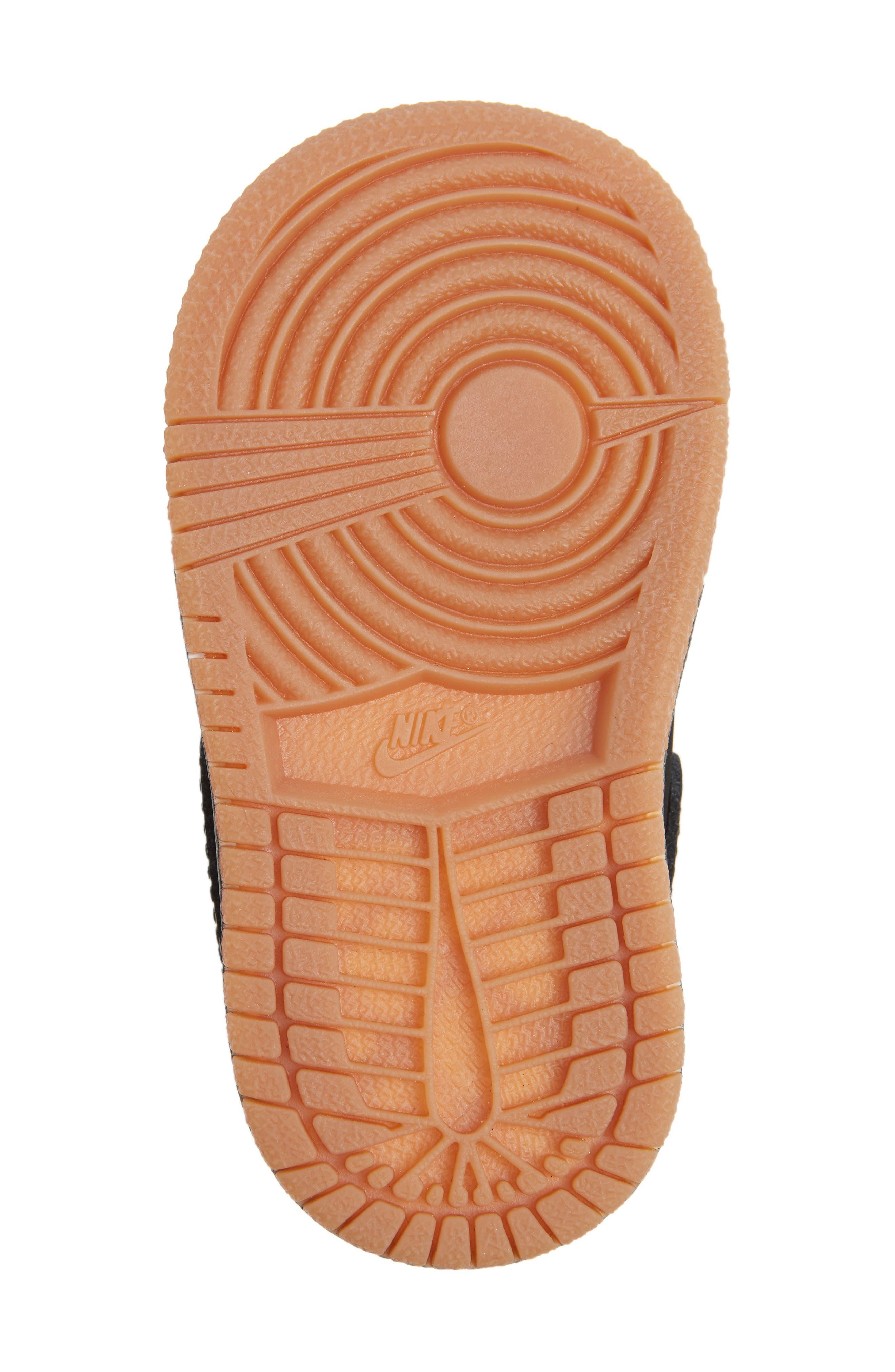Alternate Image 6  - Nike 'Jordan 1 Mid' Basketball Shoe (Walker)