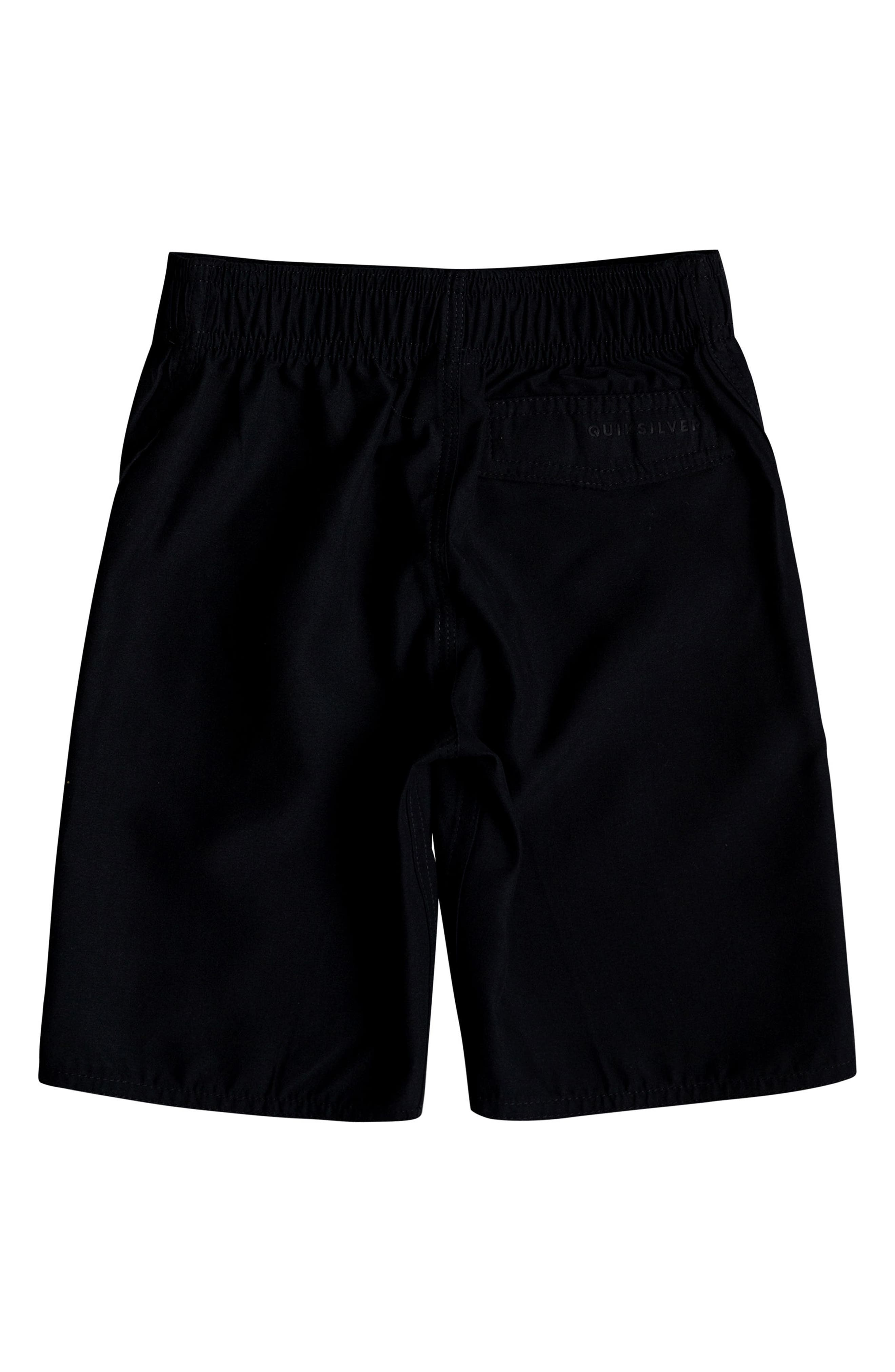 Highline Kaimana Board Shorts,                             Alternate thumbnail 2, color,                             Black