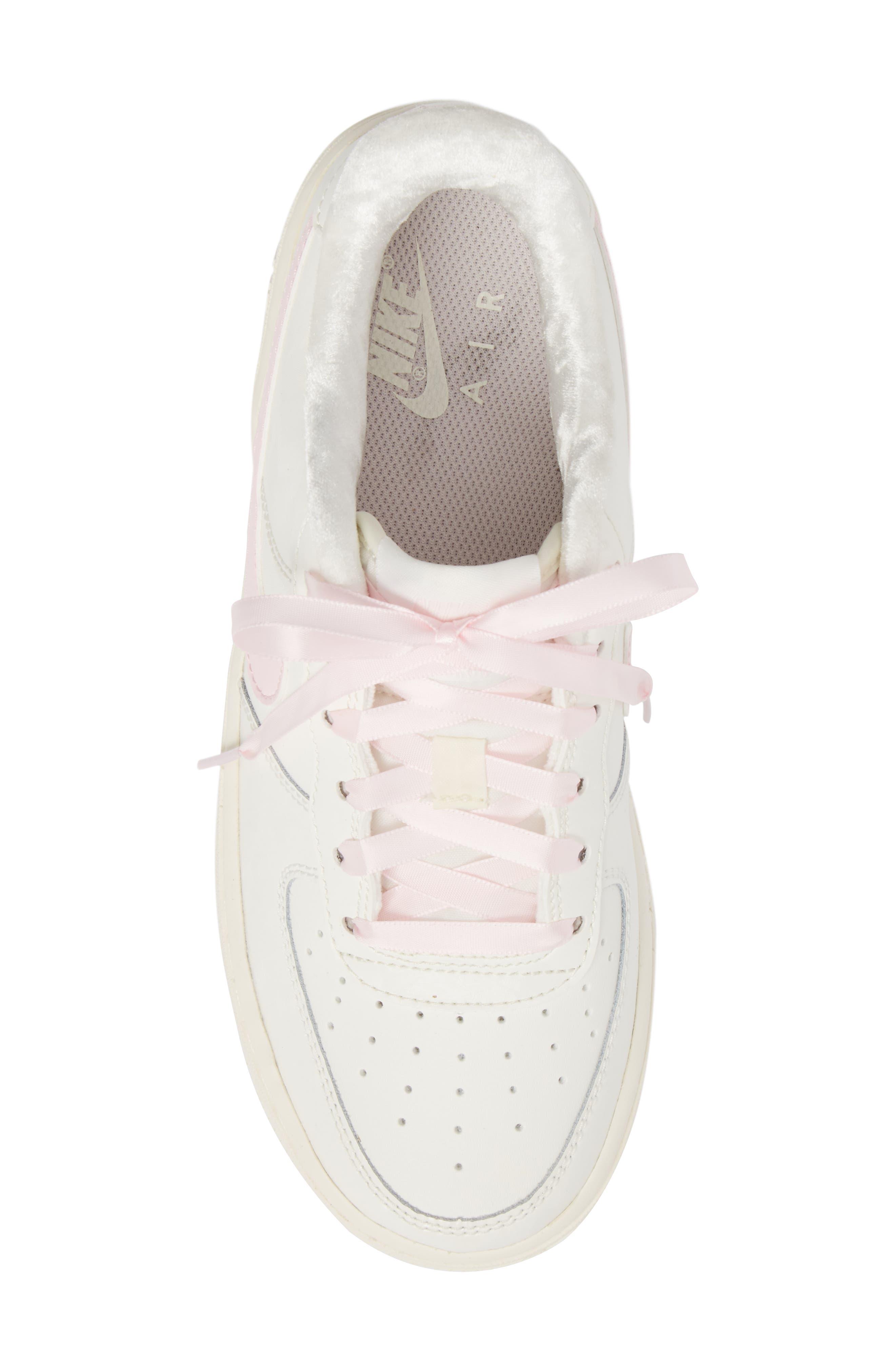 Air Force 1 '06 Sneaker,                             Alternate thumbnail 5, color,                             Sail/ Arctic Pink