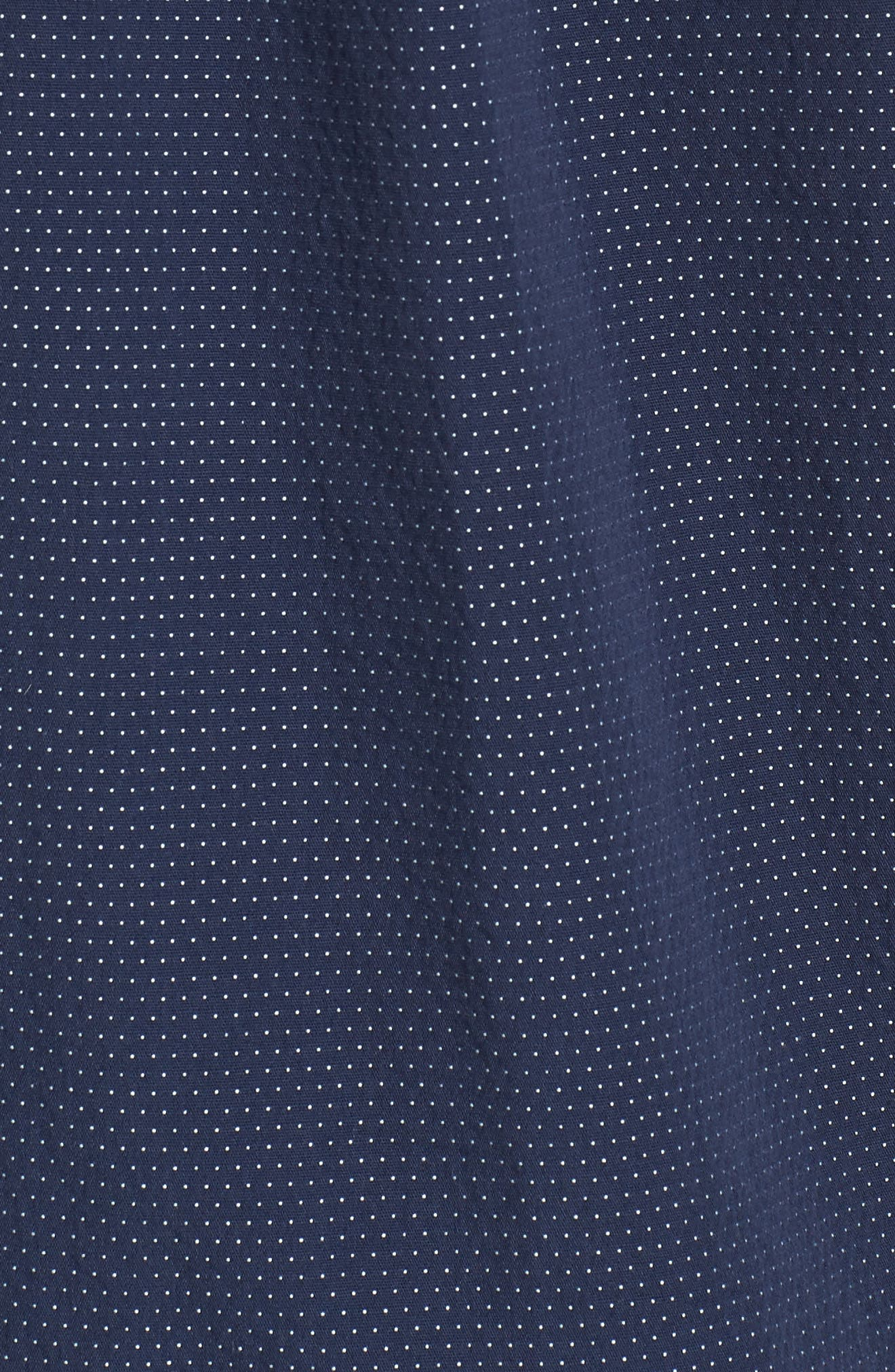 Giddings Short Sleeve Shirt,                             Alternate thumbnail 5, color,                             Dress Blues