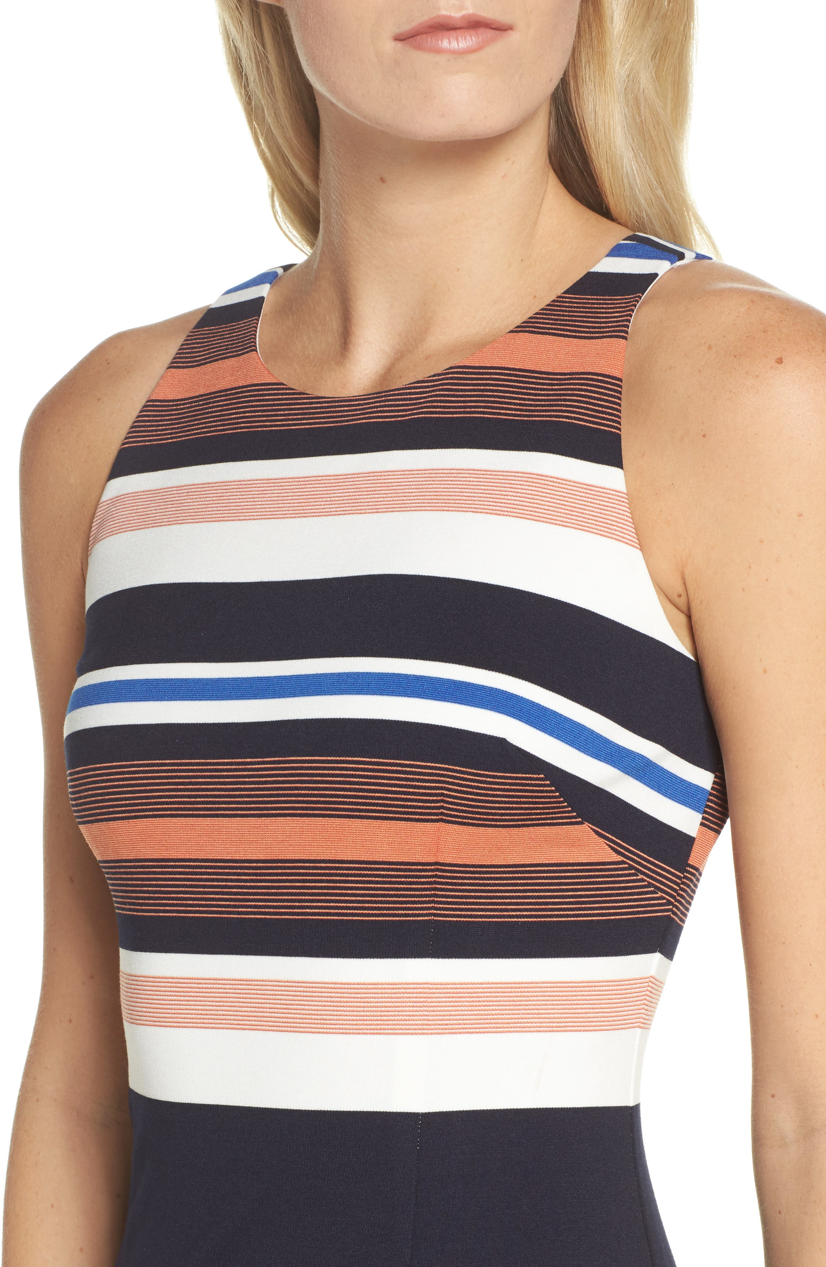 Alternate Image 4  - Adrianna Papell Stripe Body-Con Dress