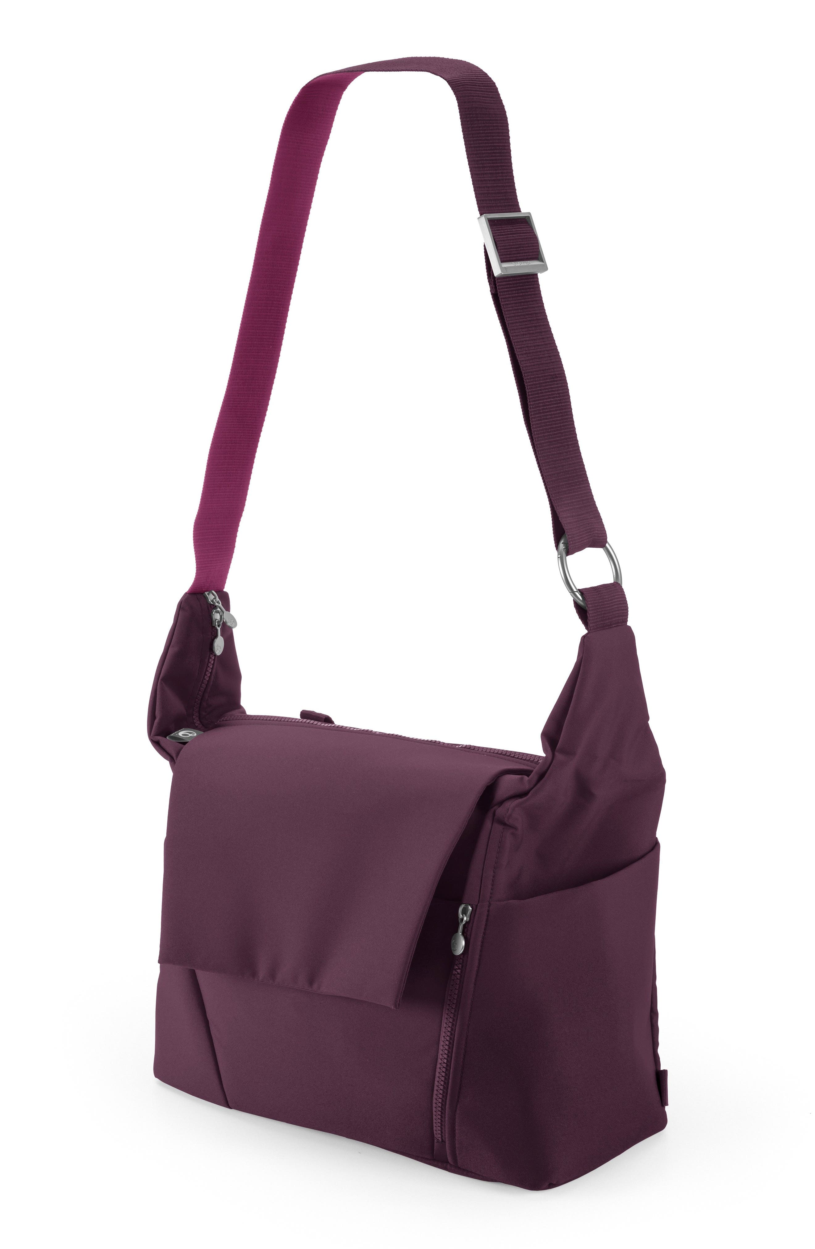 Diaper Bag,                             Alternate thumbnail 2, color,                             Purple