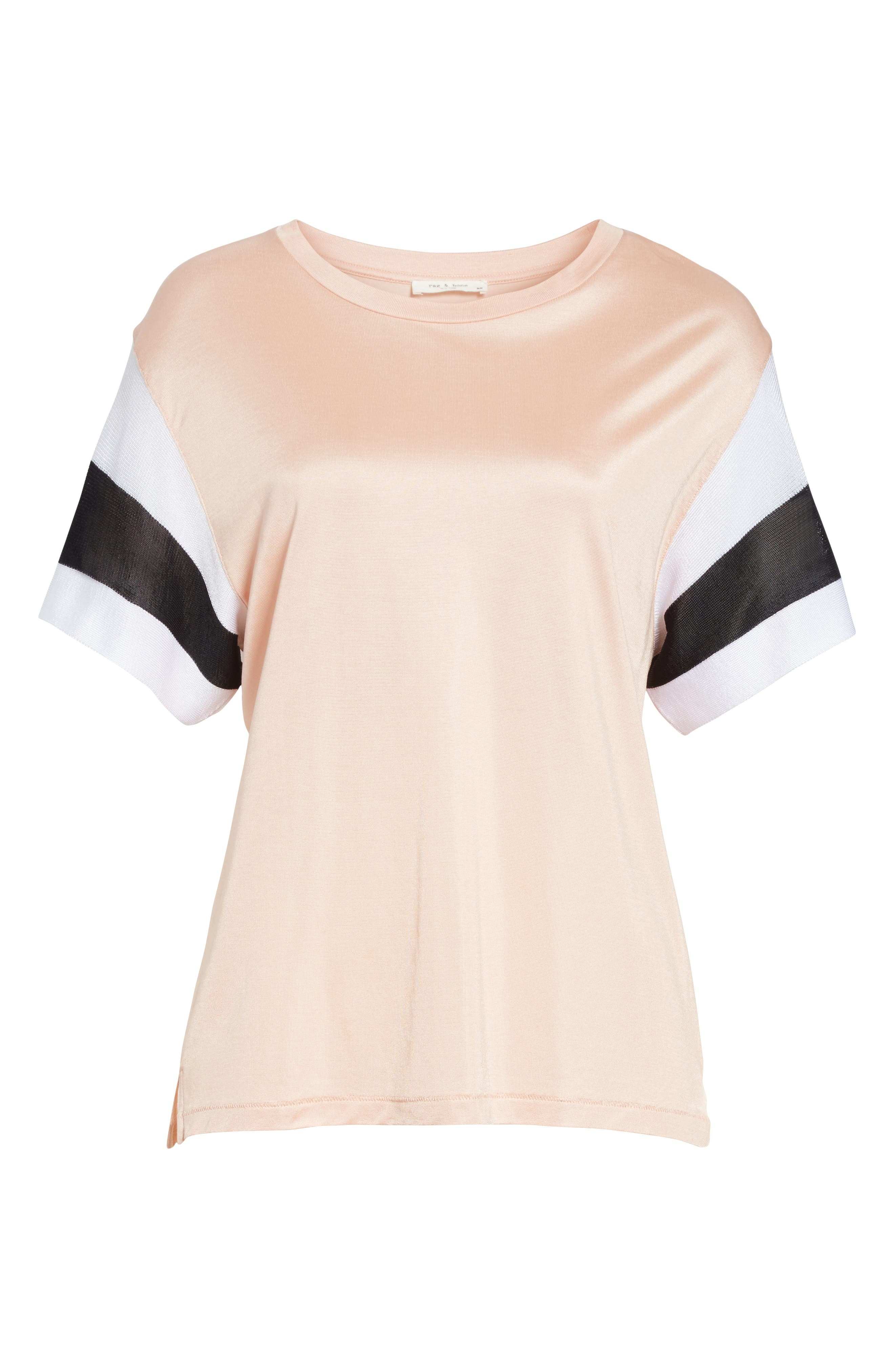 Penny Tee,                             Alternate thumbnail 6, color,                             Pink Rose