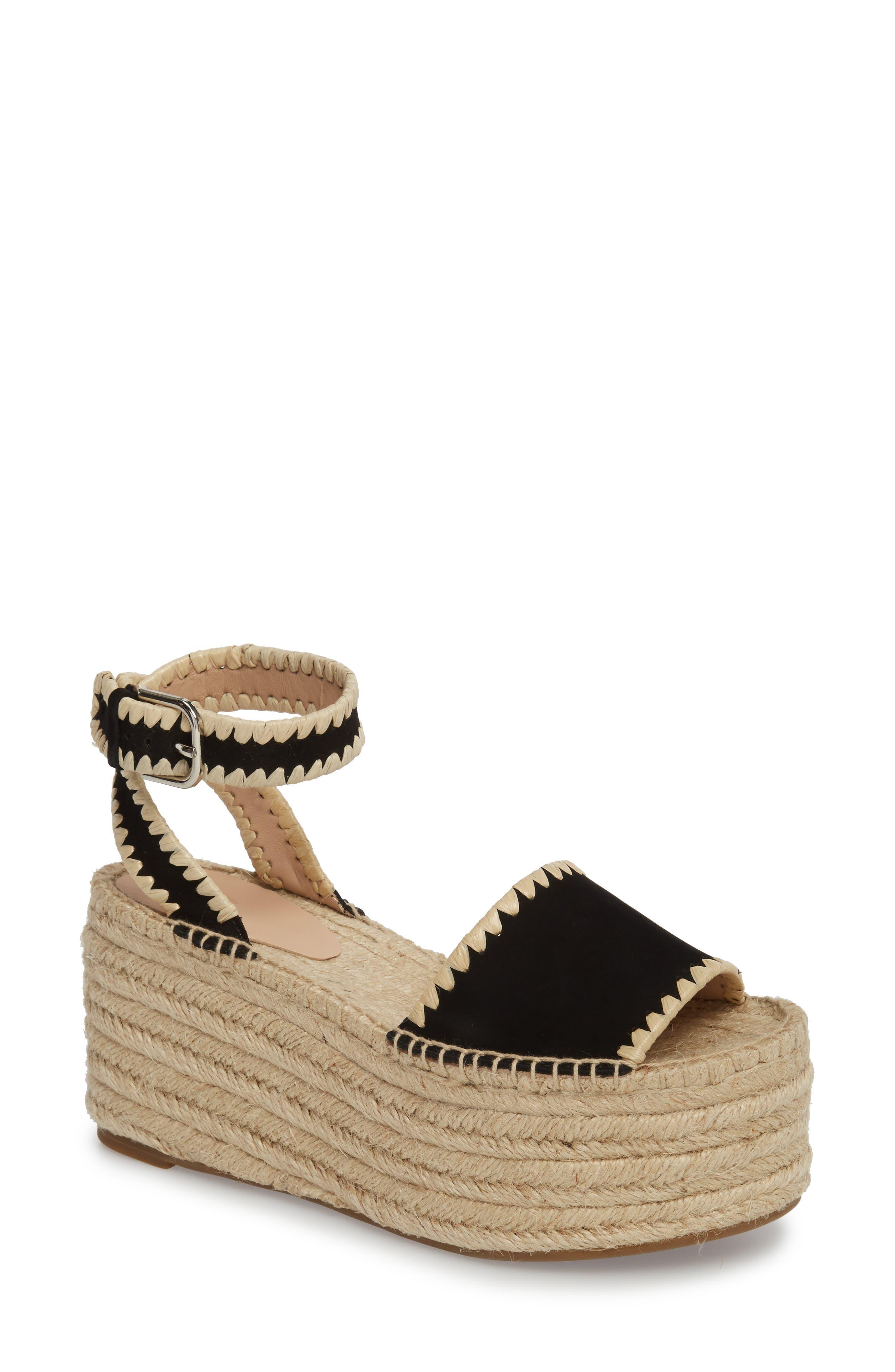 Ria Espadrille Platform Sandal by Pour La Victoire
