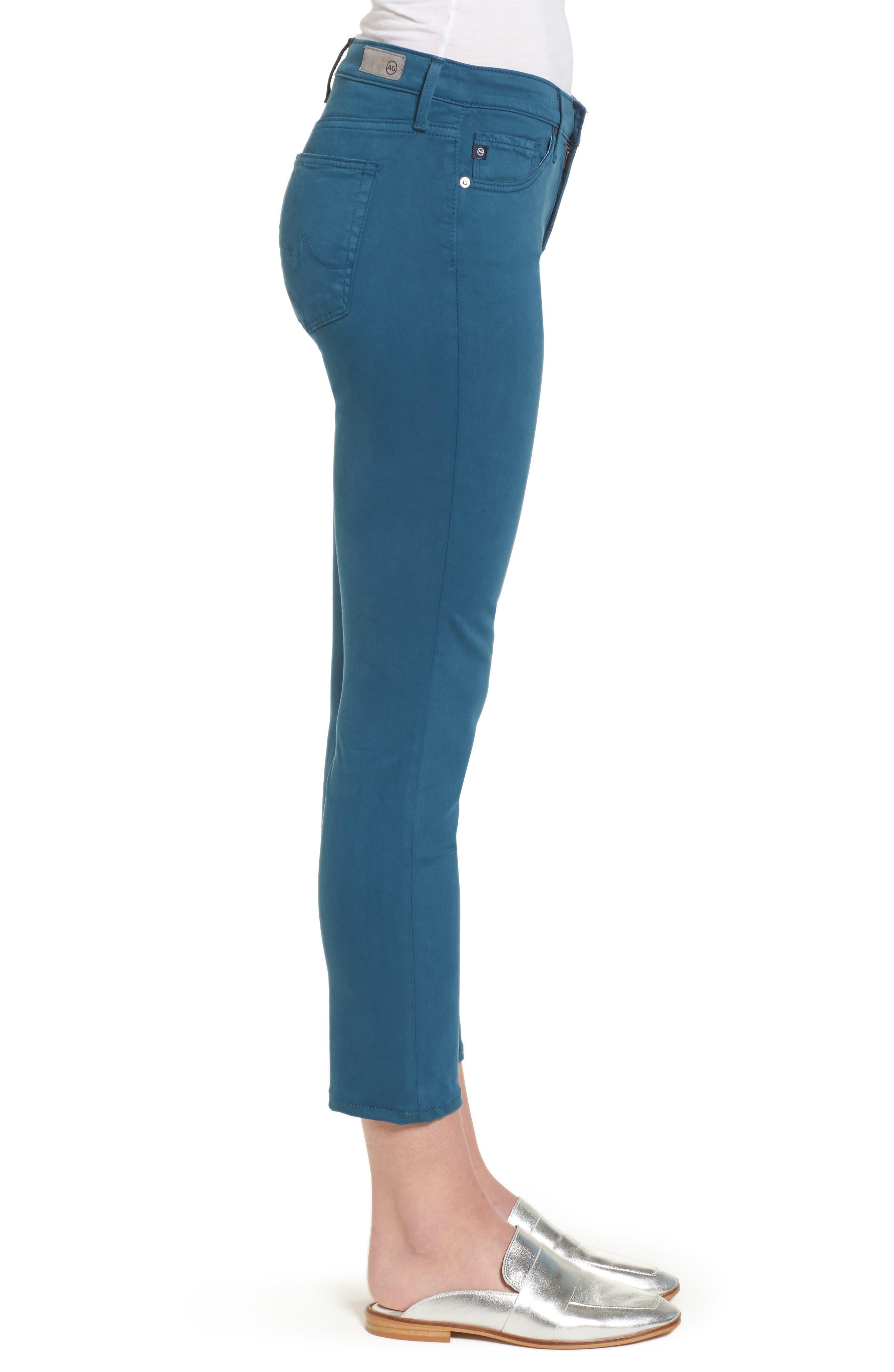 Alternate Image 3  - AG The Prima Crop Cigarette Jeans