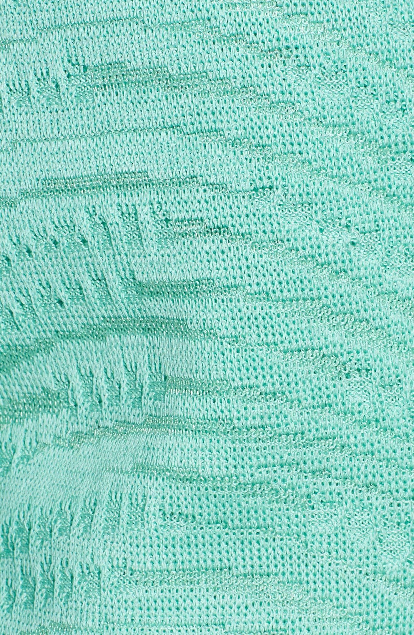 Textured Cardigan,                             Alternate thumbnail 5, color,                             Herb