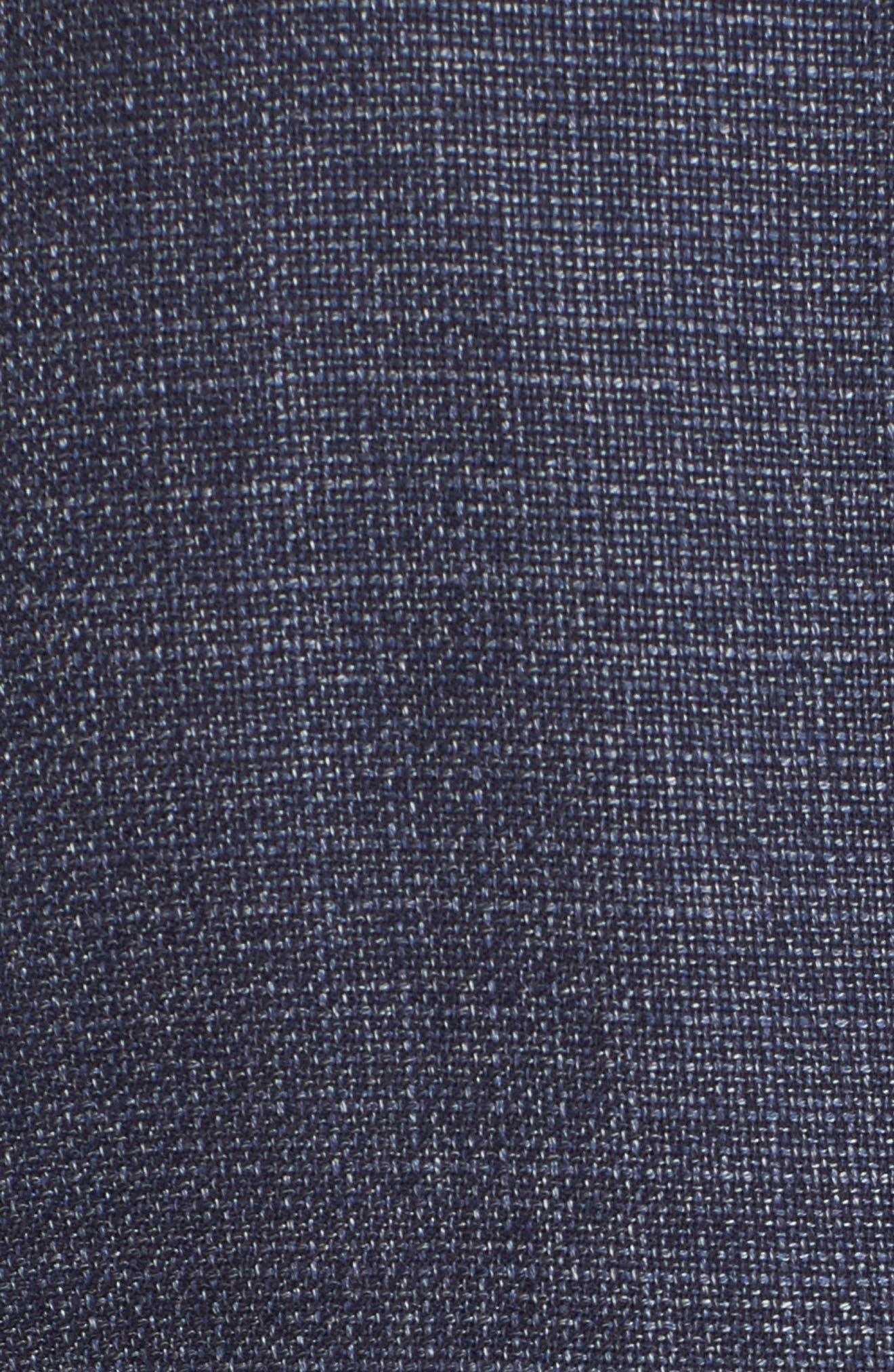 Gansevoort Regular Fit Wool Blazer,                             Alternate thumbnail 5, color,                             Storm
