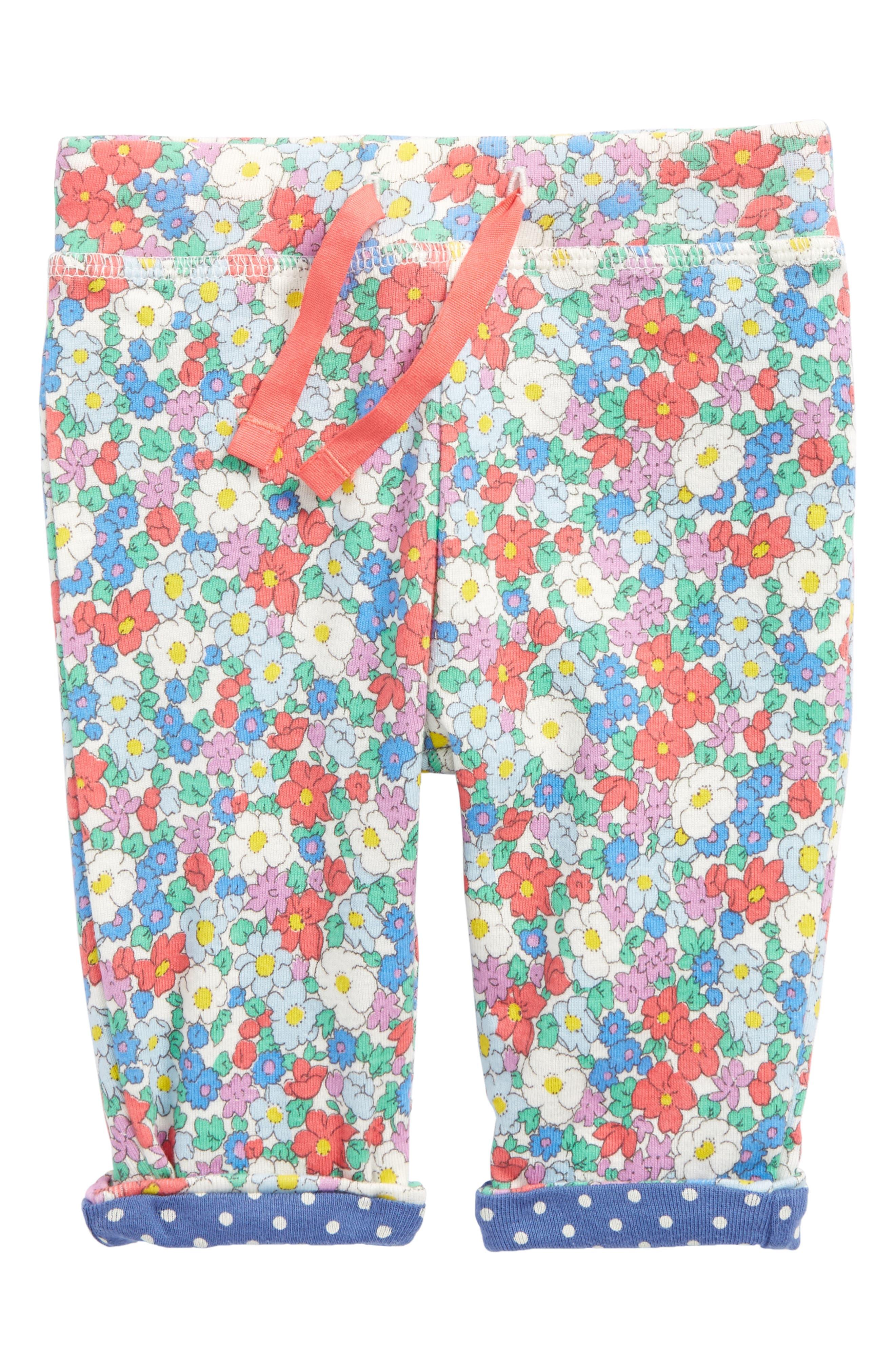 Mini Boden Reversible Print Pants (Baby Girls & Toddler Girls)