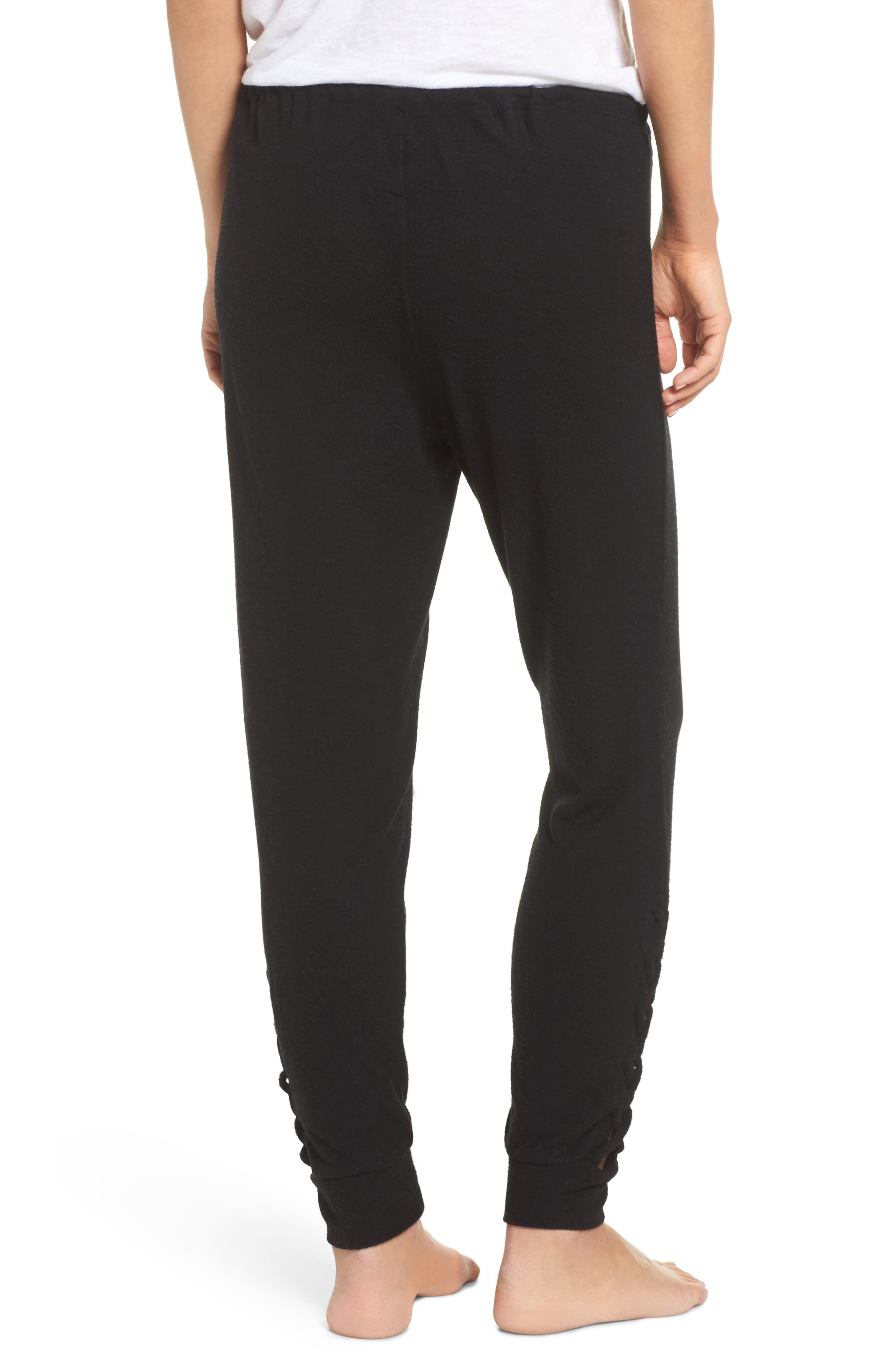 Love Sweatpants,                             Alternate thumbnail 2, color,                             True Black