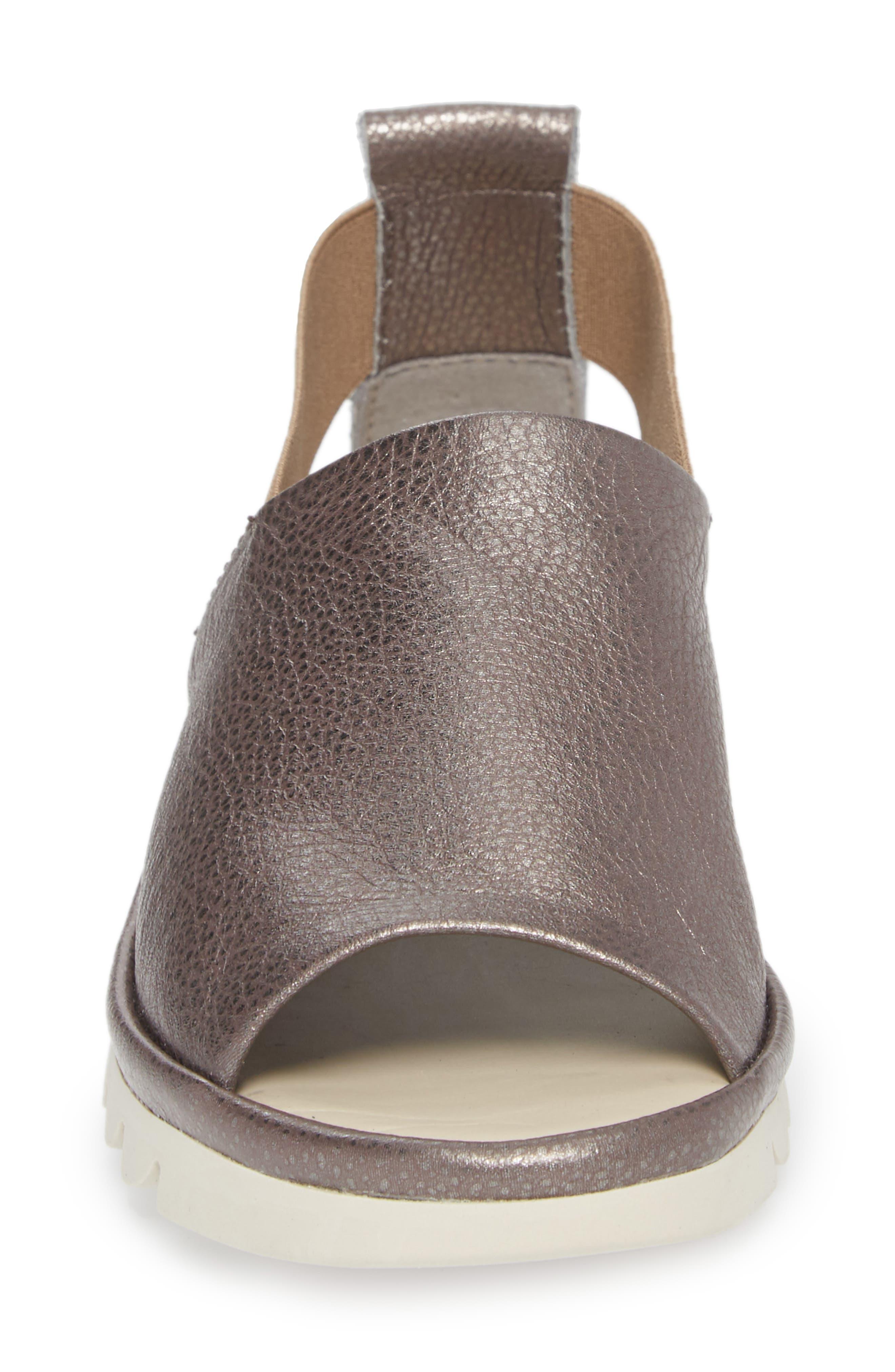 Shore Line Sandal,                             Alternate thumbnail 4, color,                             Canna Di Fucile Leather