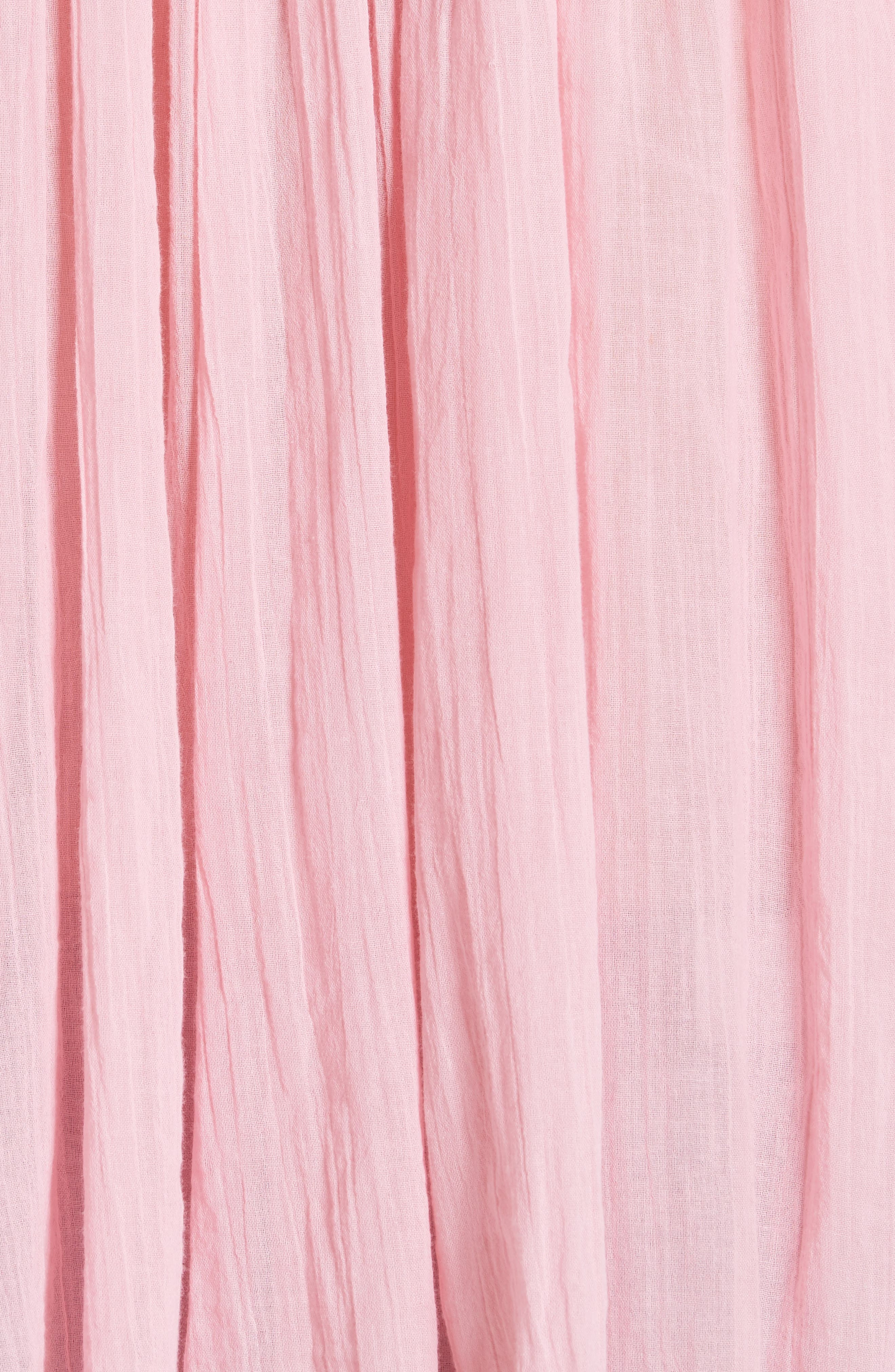 The Artist Blouse,                             Alternate thumbnail 6, color,                             Flamingo