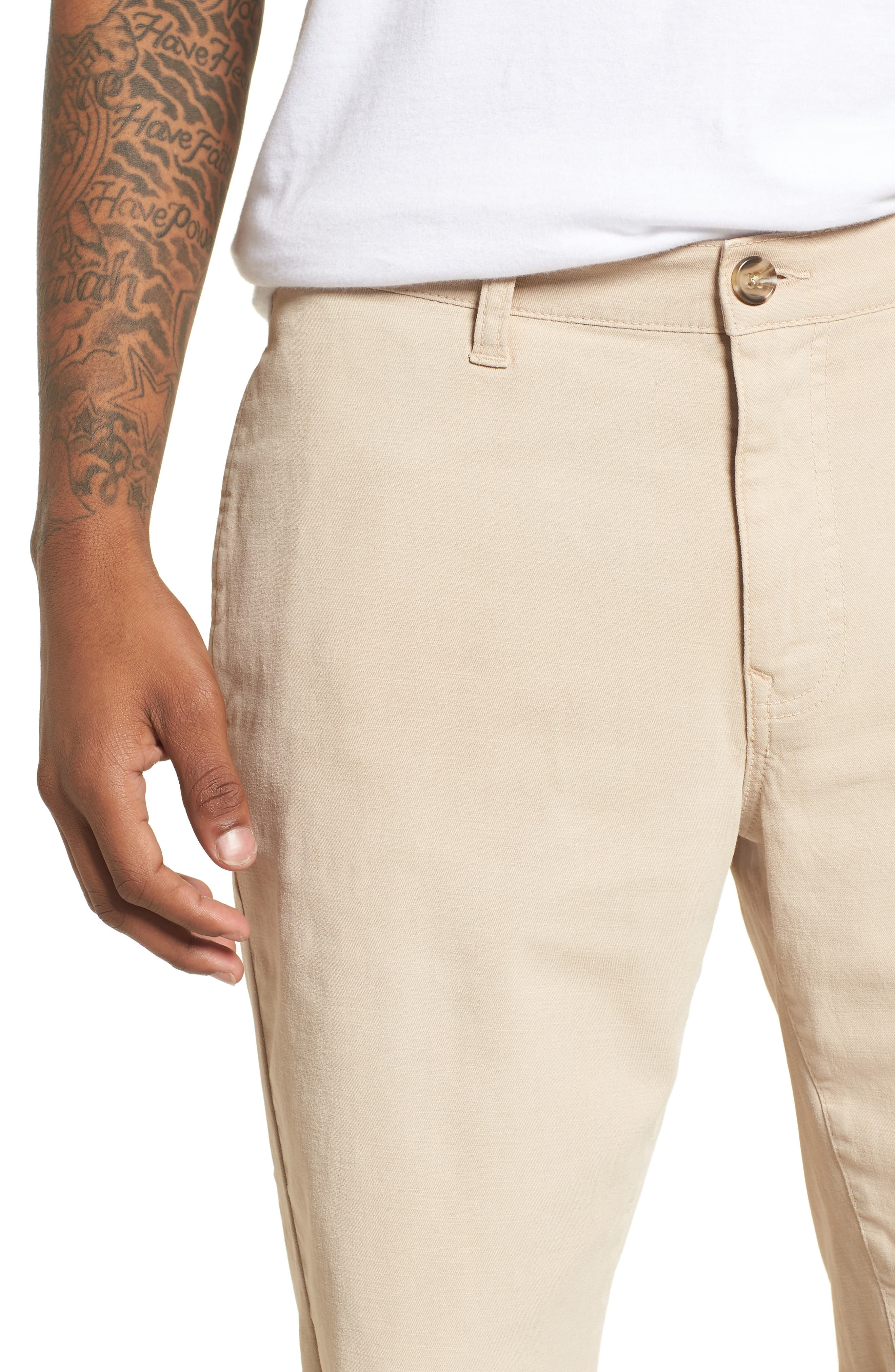 Alternate Image 4  - The Rail Frost Wash Shorts