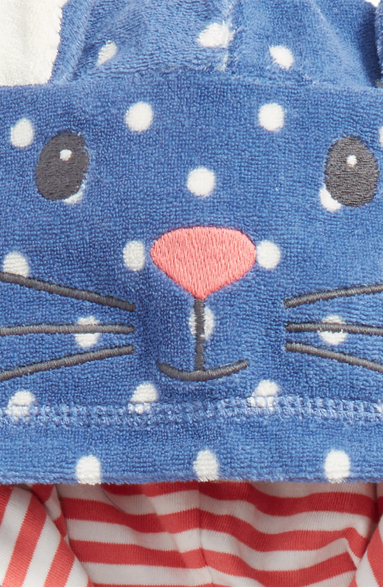 Novelty Toweling Pullover,                             Alternate thumbnail 2, color,                             Washed Bluebell