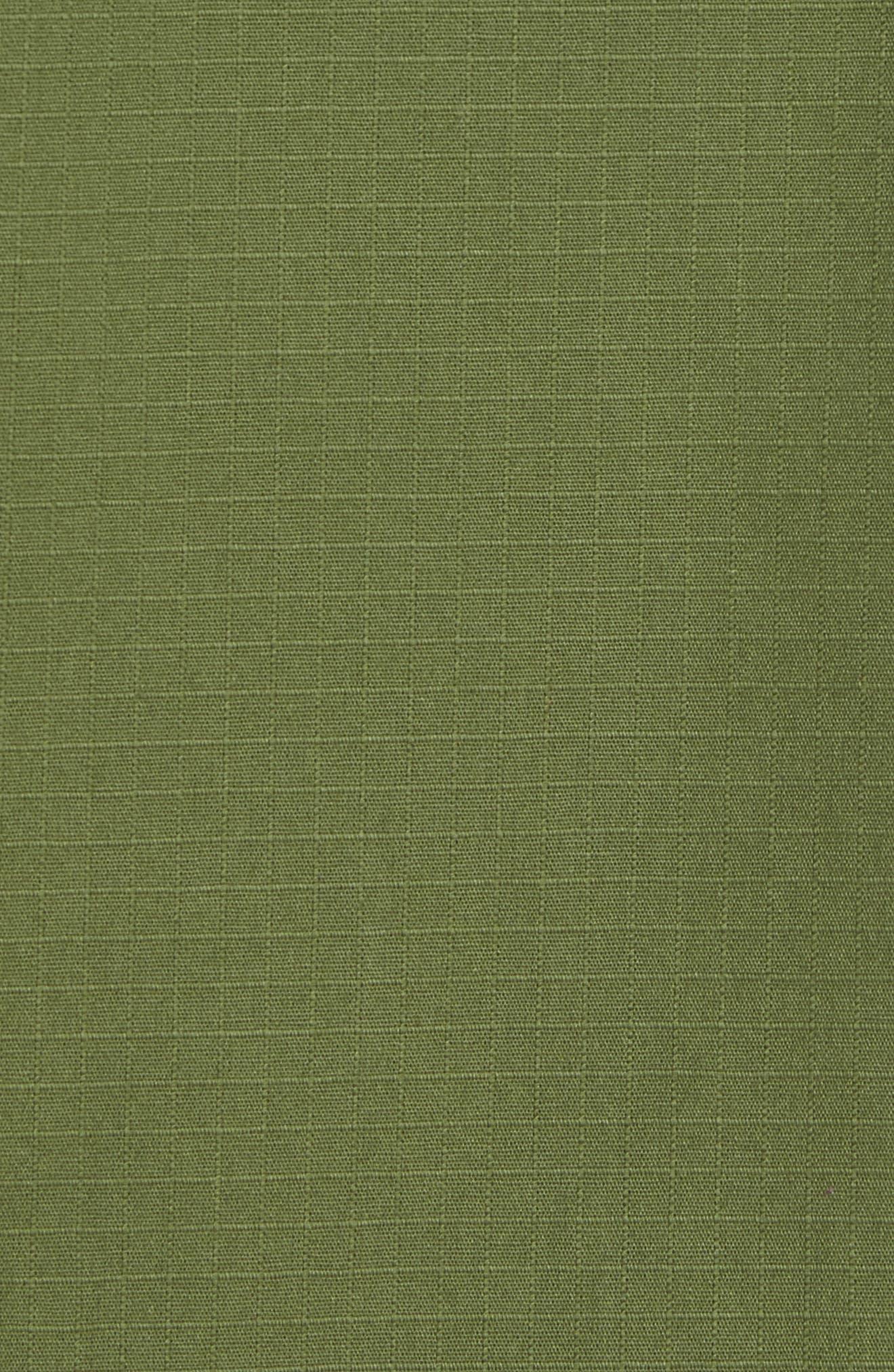 Oakledge Ripstop Shirt Jacket,                             Alternate thumbnail 5, color,                             Olive