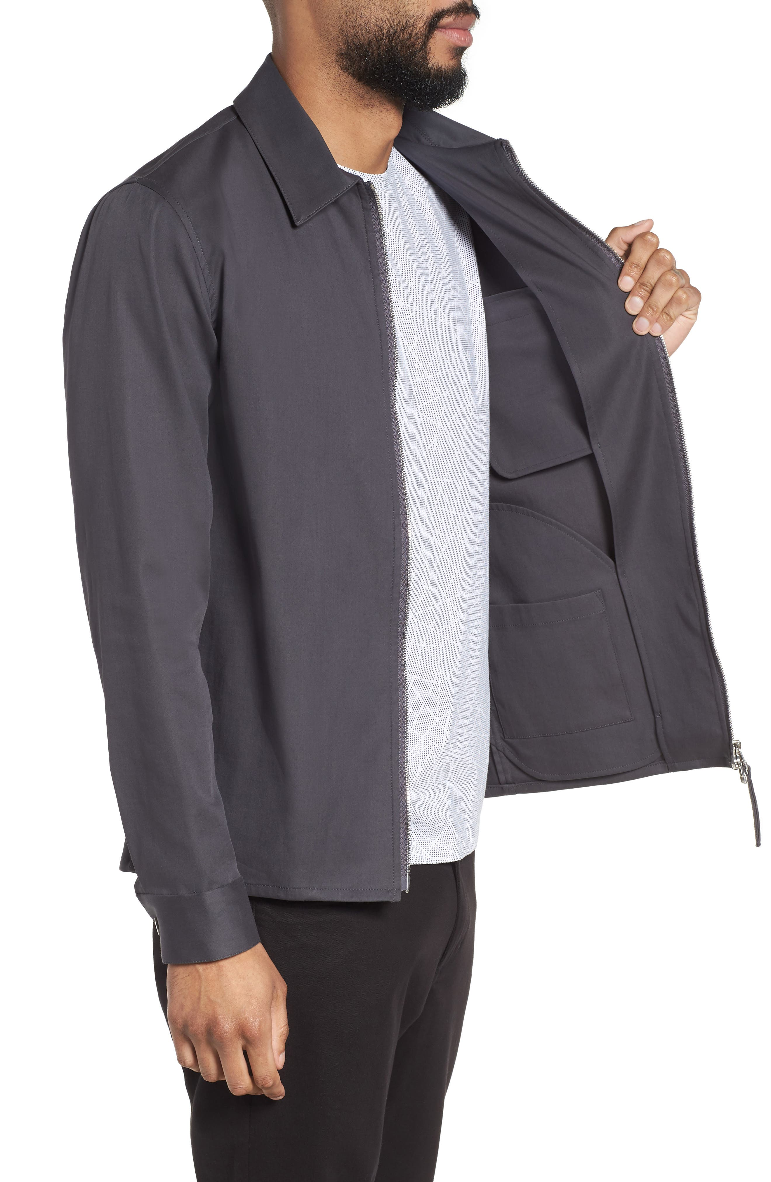 Alternate Image 3  - Theory Rye Holtham Shirt Jacket