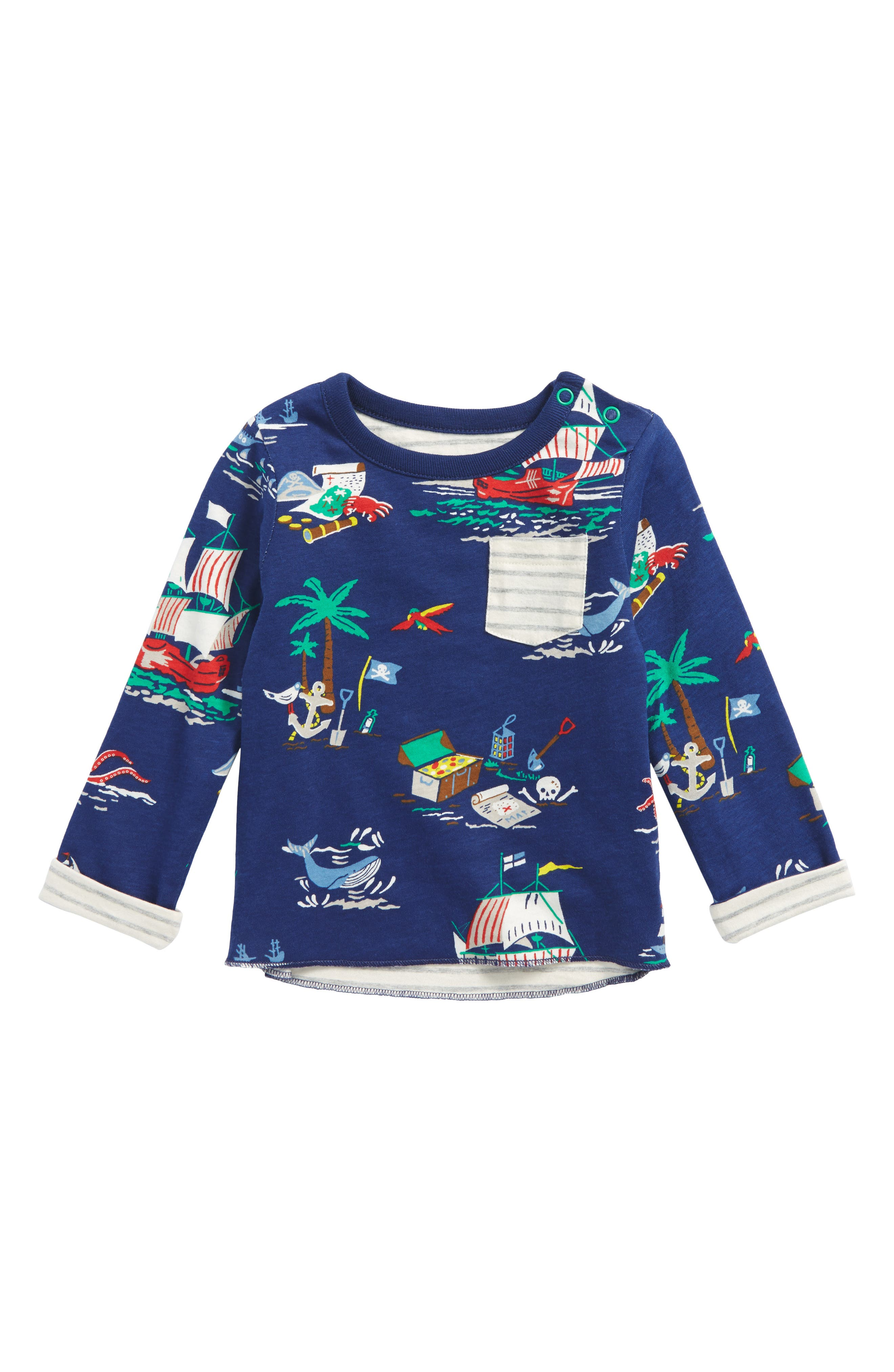 Mini Boden Reversible T-Shirt (Baby Boys & Toddler Boys)