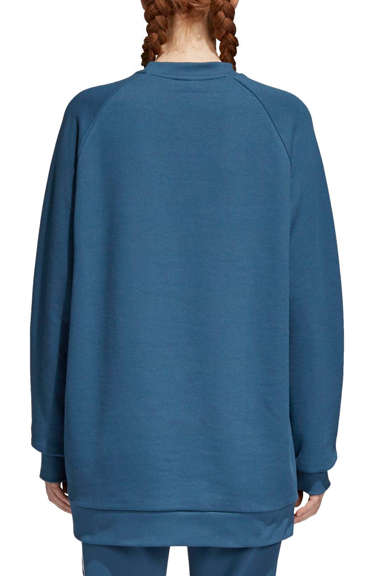 Originals Oversize Sweatshirt,                             Alternate thumbnail 2, color,                             Dark Steel