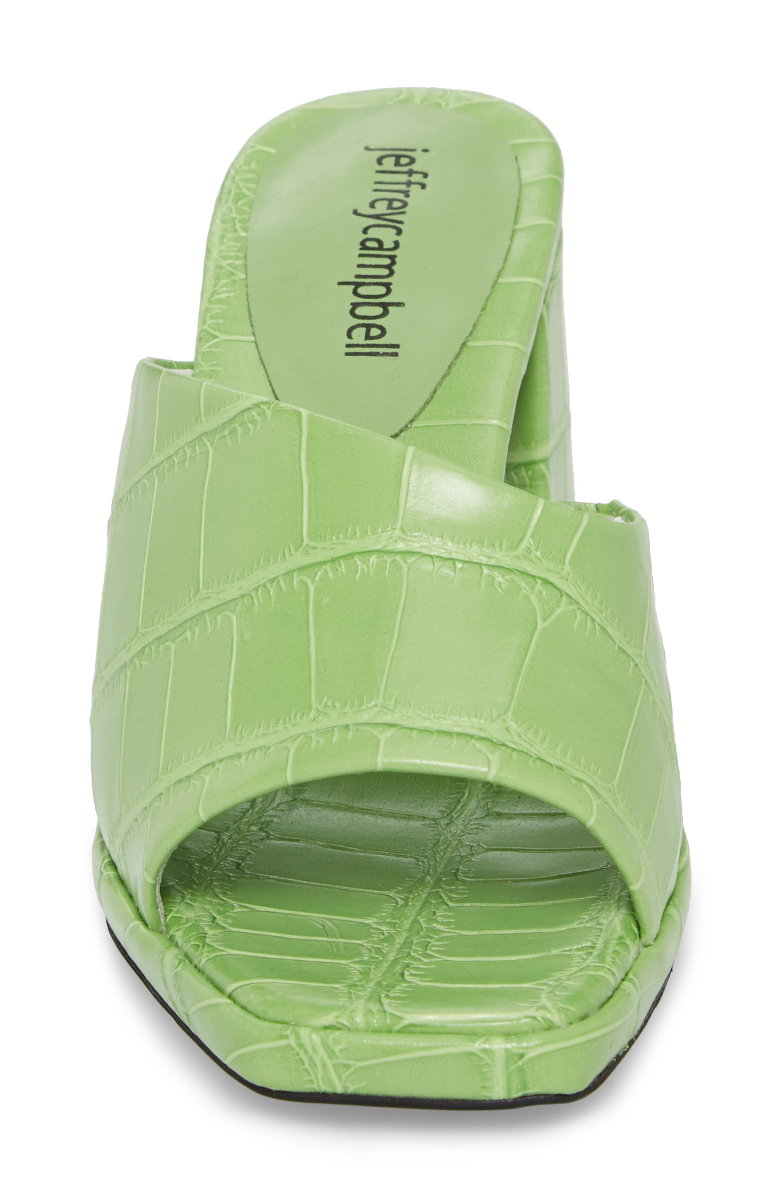 Suzuci Sandal,                             Alternate thumbnail 4, color,                             Green Leather