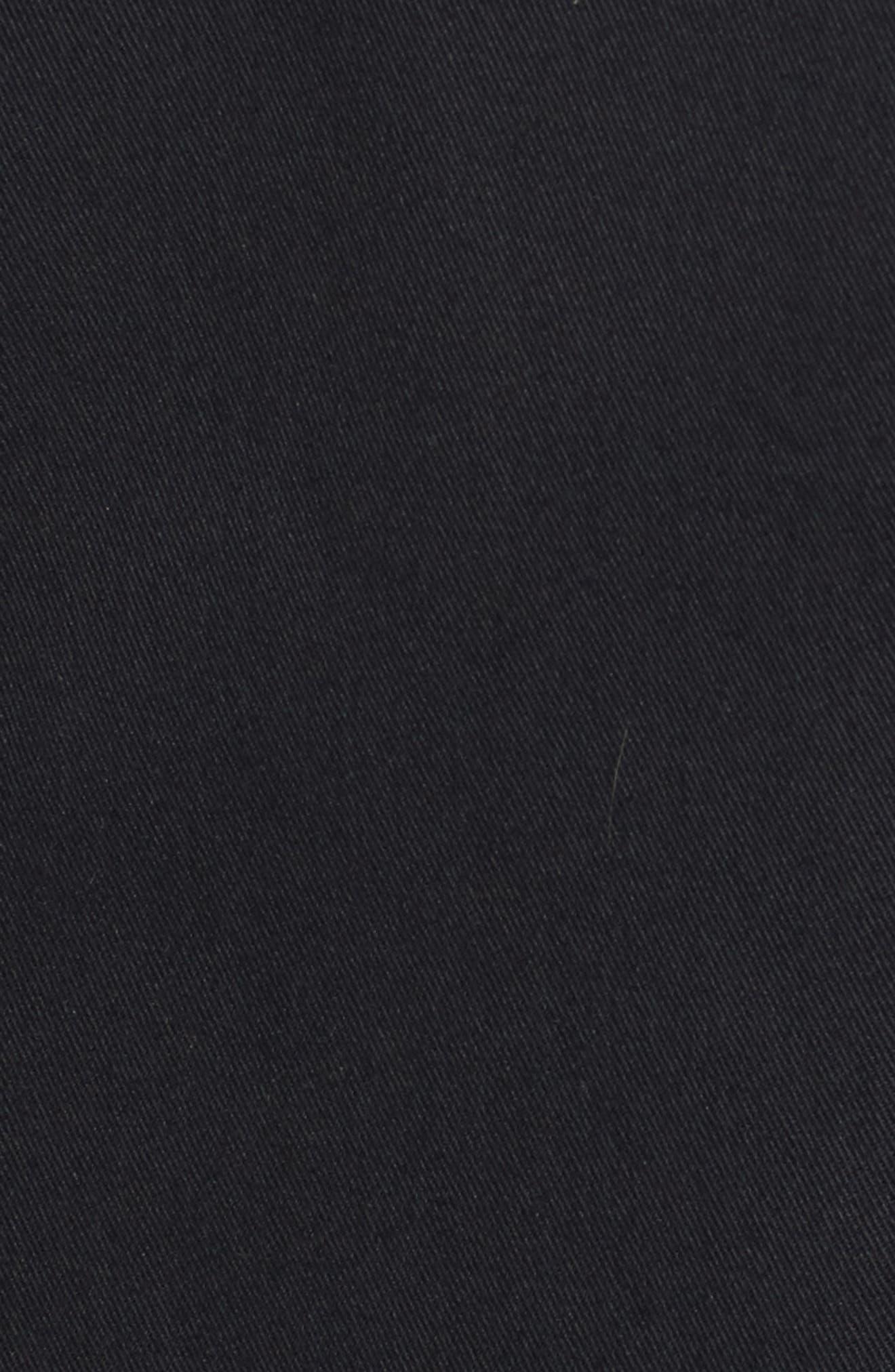 Clifott Trim Fit Stretch Cotton Blazer,                             Alternate thumbnail 5, color,                             Navy