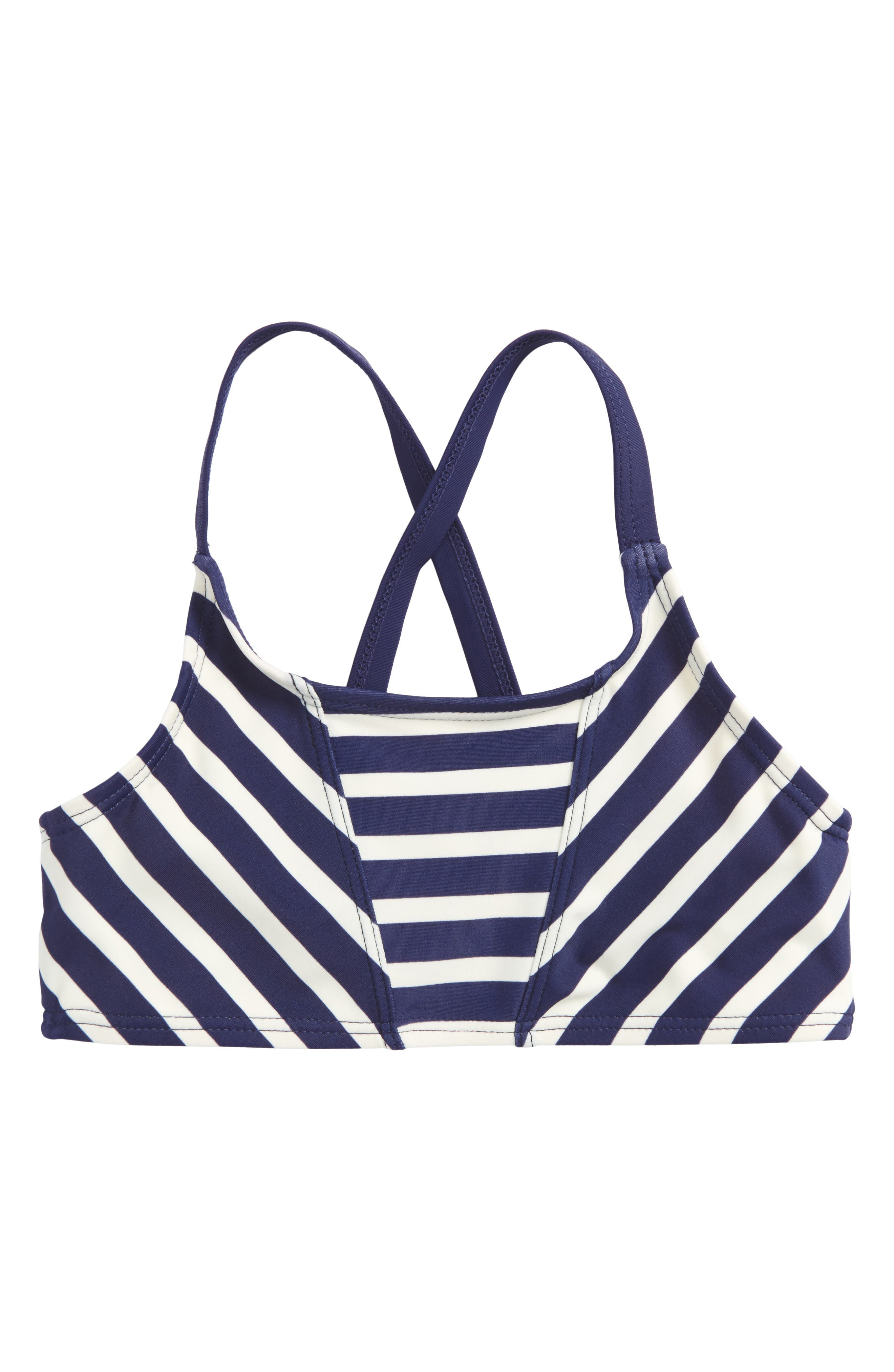 Stripe Bikini Top,                         Main,                         color, Twilight