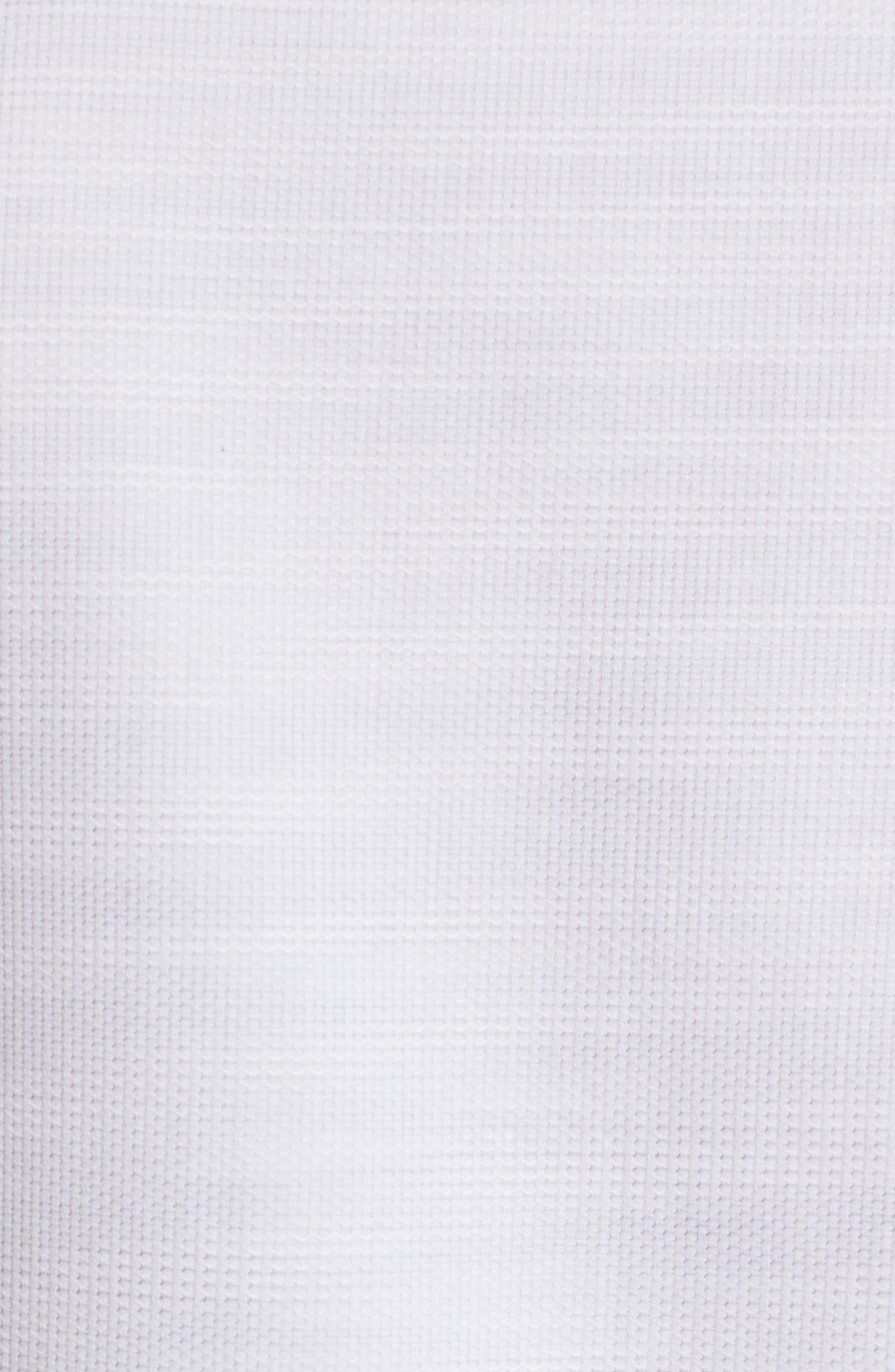 Contemporary Fit Mélange Texture Sport Shirt,                             Alternate thumbnail 5, color,                             Sand