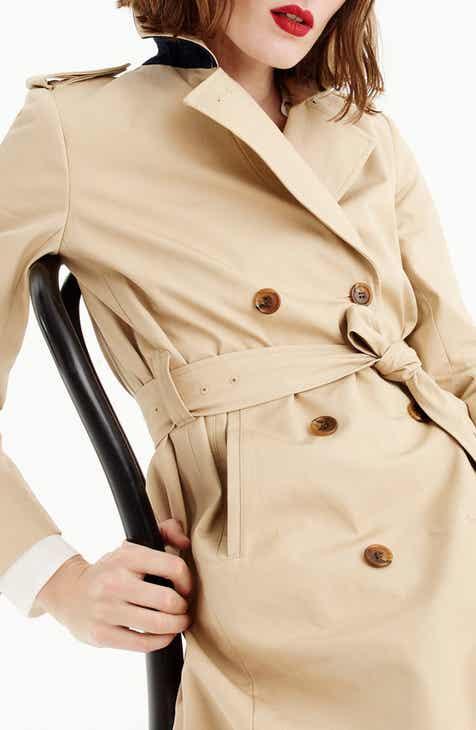 J.Crew Dion Trench Coat (Regular   Petite) 59ff1a8a3