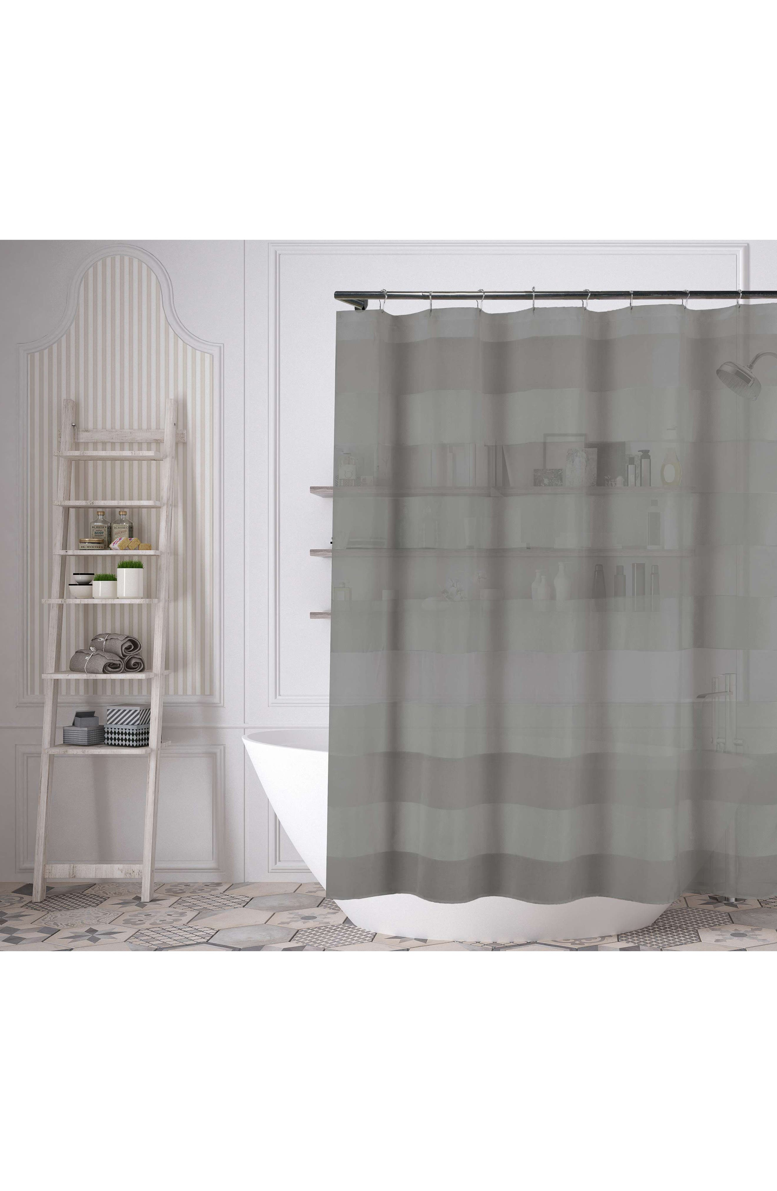 Capricia Shower Curtain,                         Main,                         color, Grey