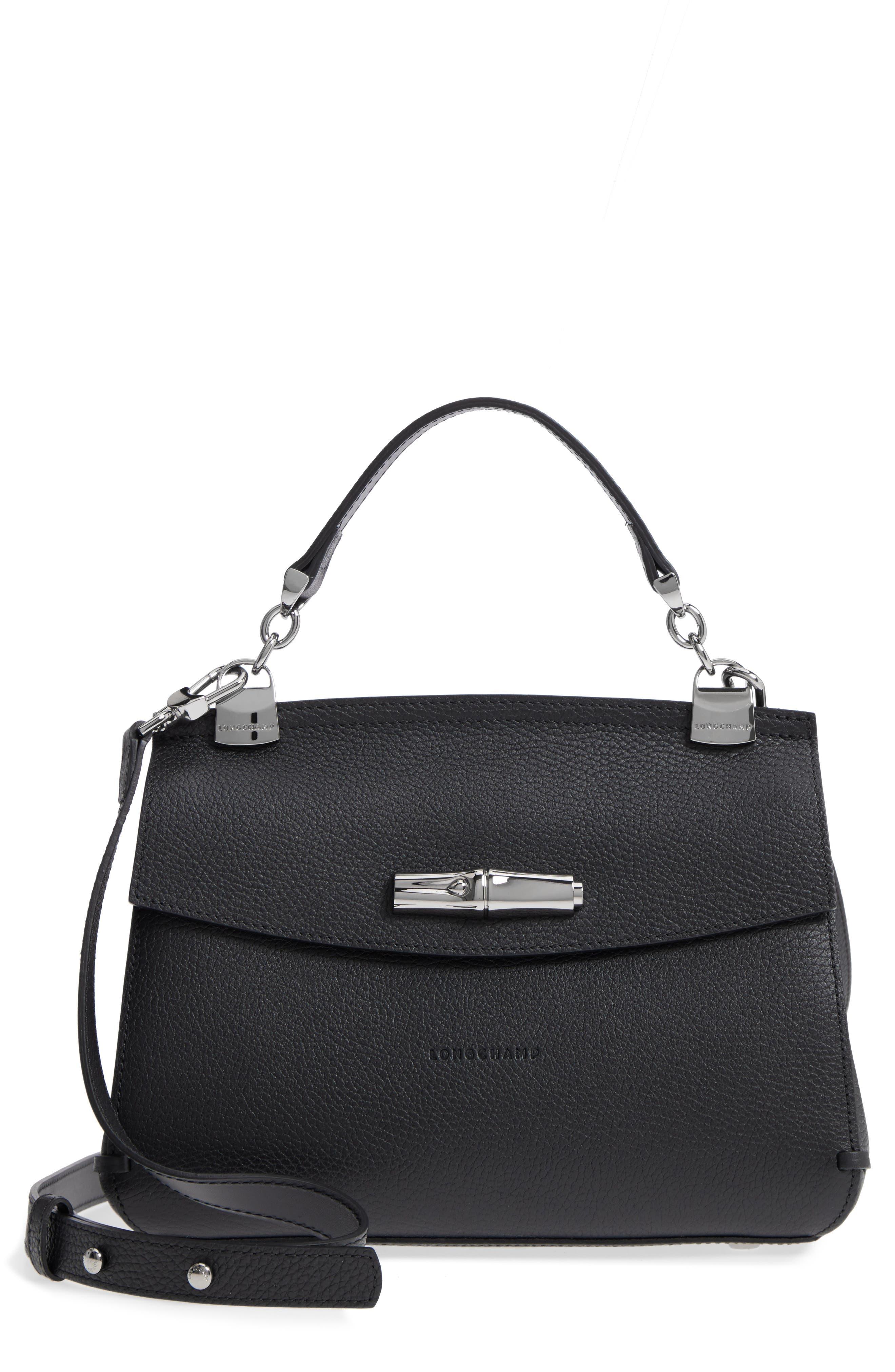 Longchamp Madeleine Leather Satchel