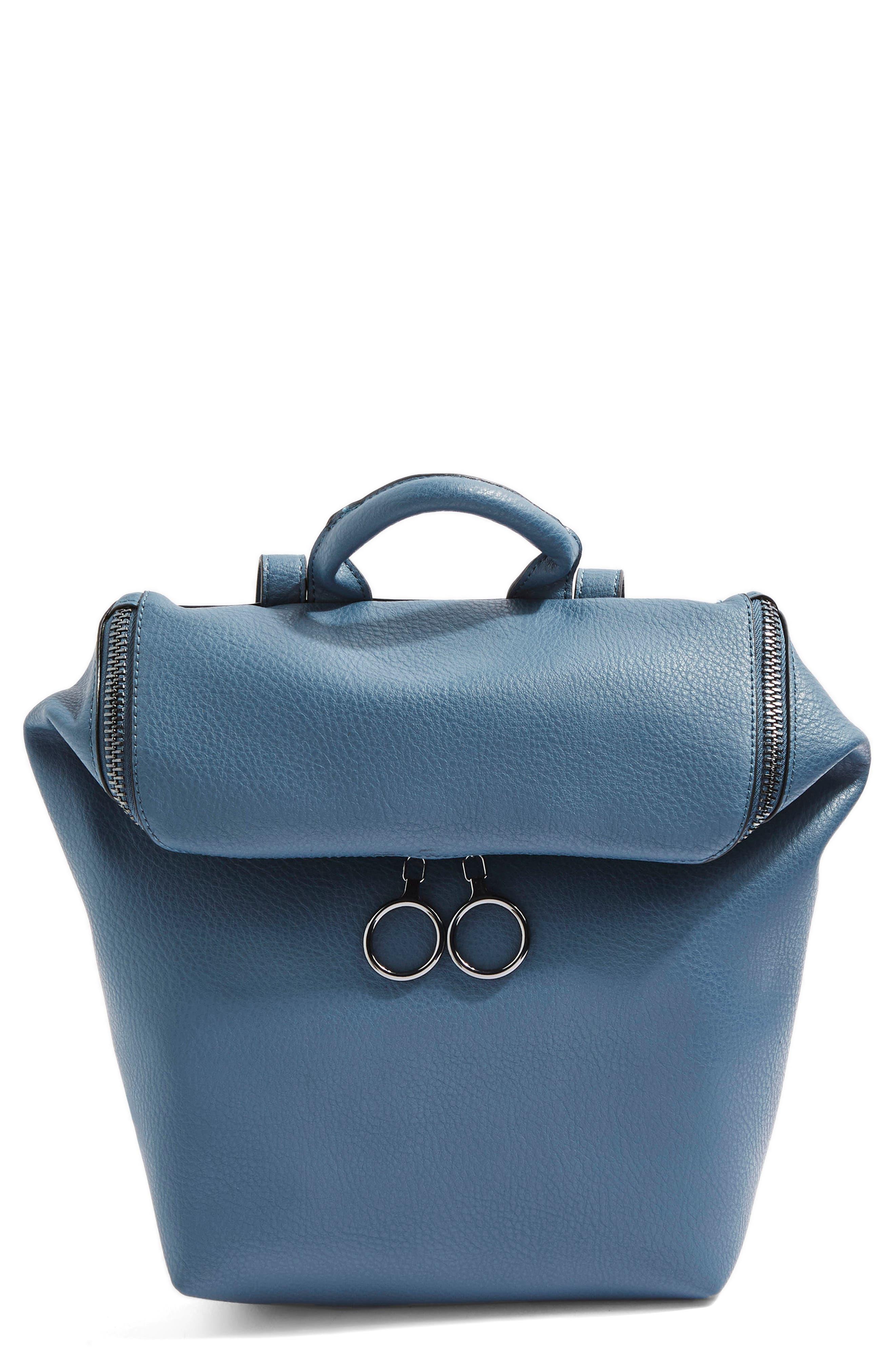 Topshop Bam Zip Backpack