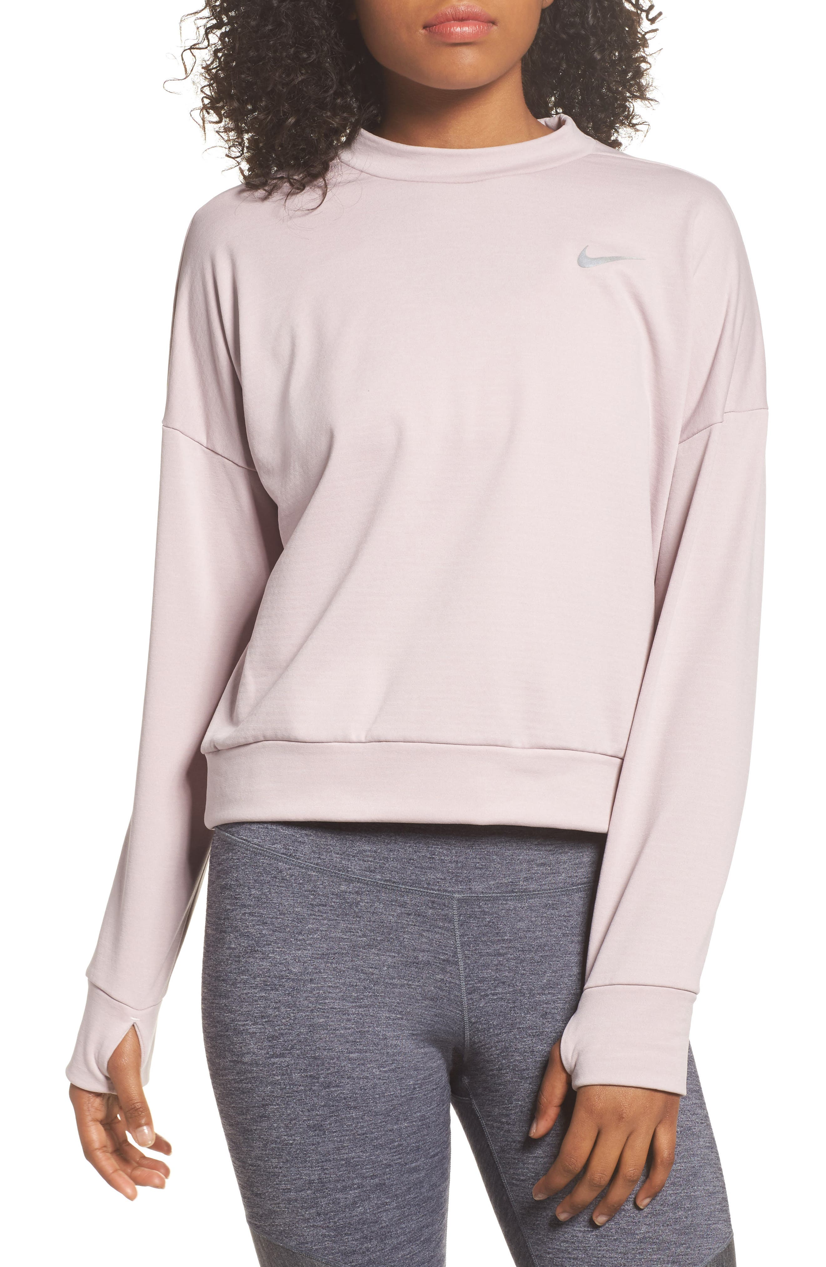 Therma Sphere Element Women's Running Top,                         Main,                         color, Particle Rose
