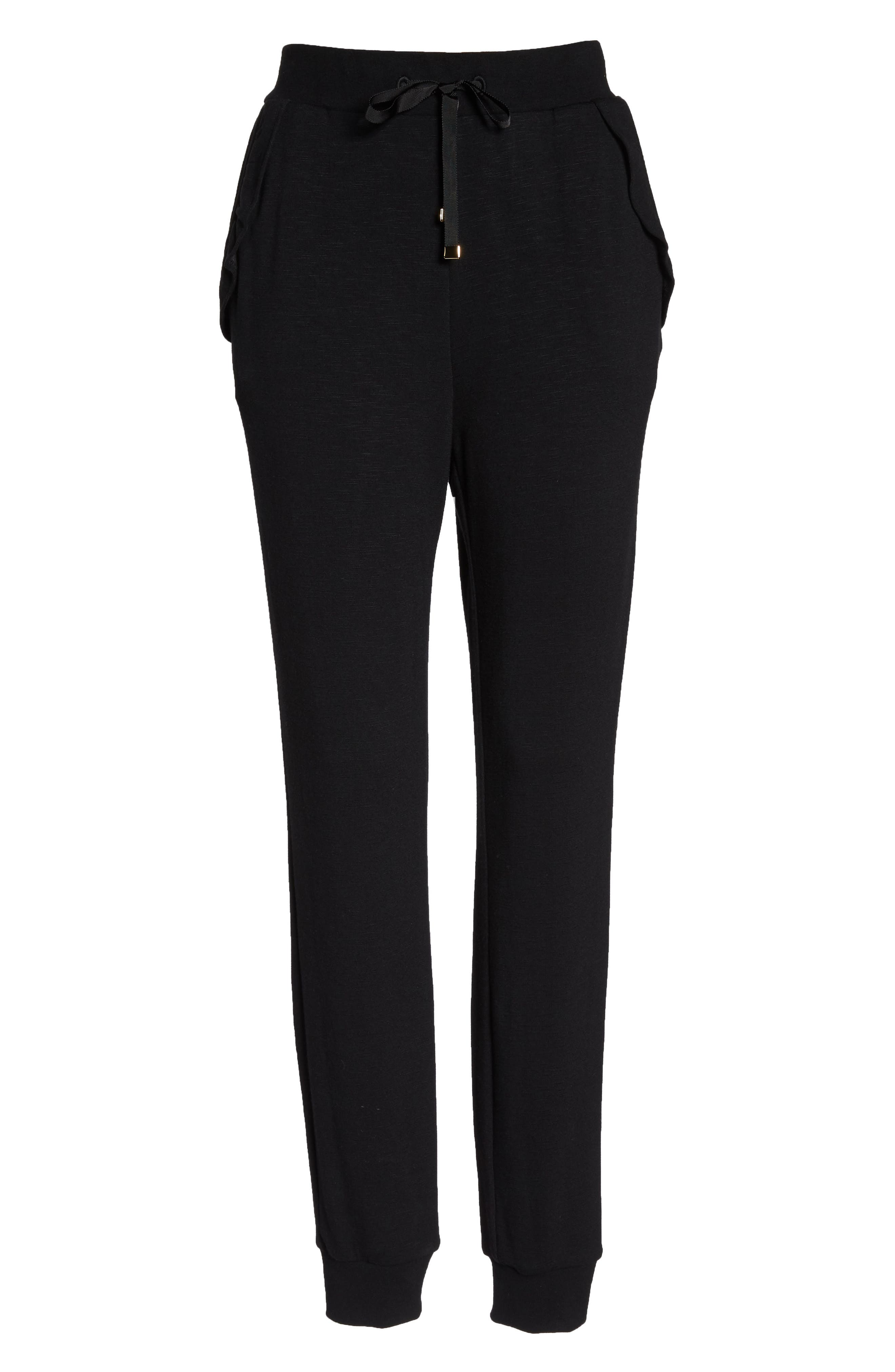 Alternate Image 6  - kate spade new york ruffle sweatpants